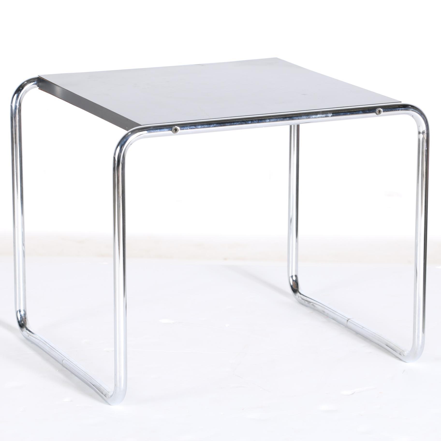 """""""Laccio"""" Side Table Marcel Breuer for Gavina"""