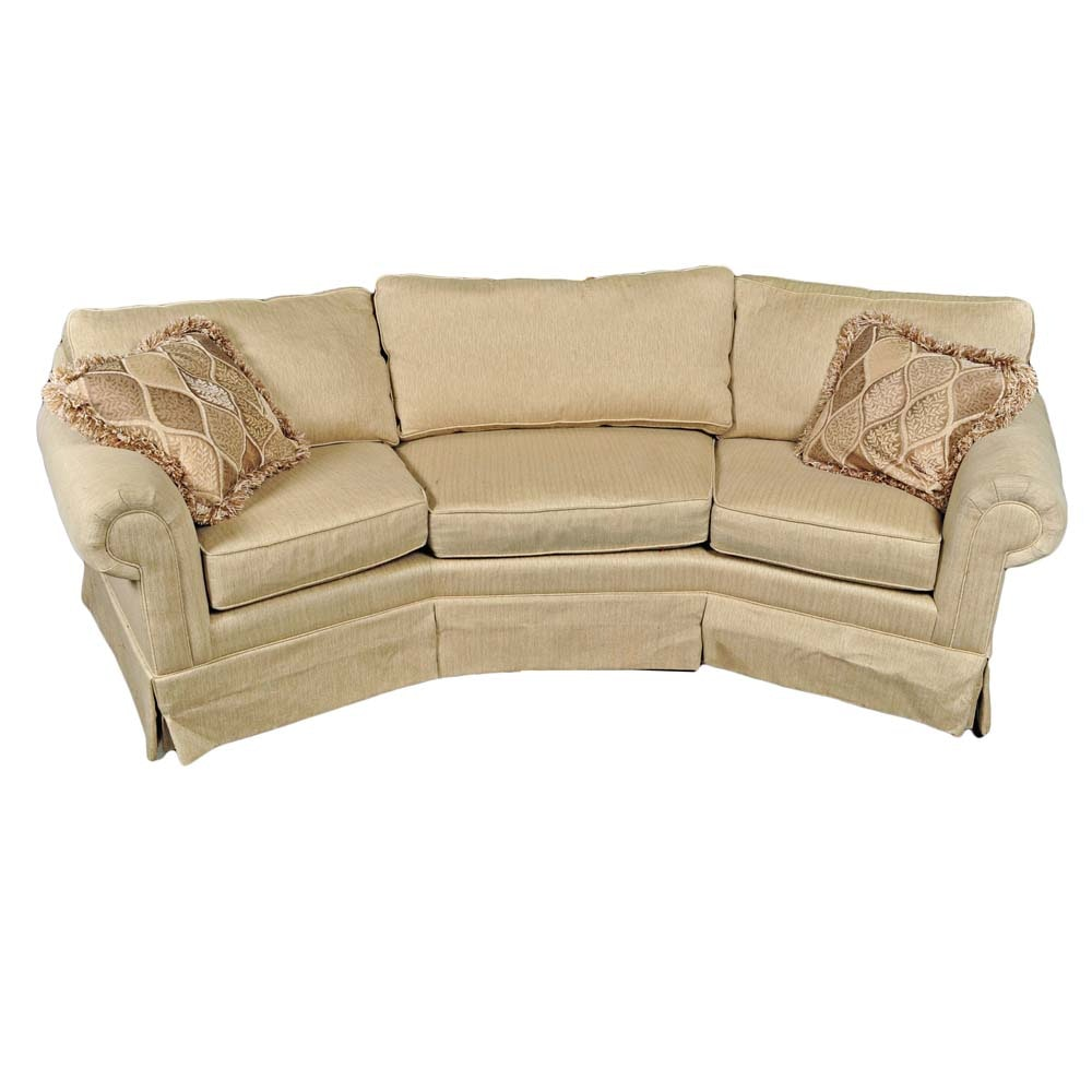 "Havertys ""Willow"" Wedge Sofa"