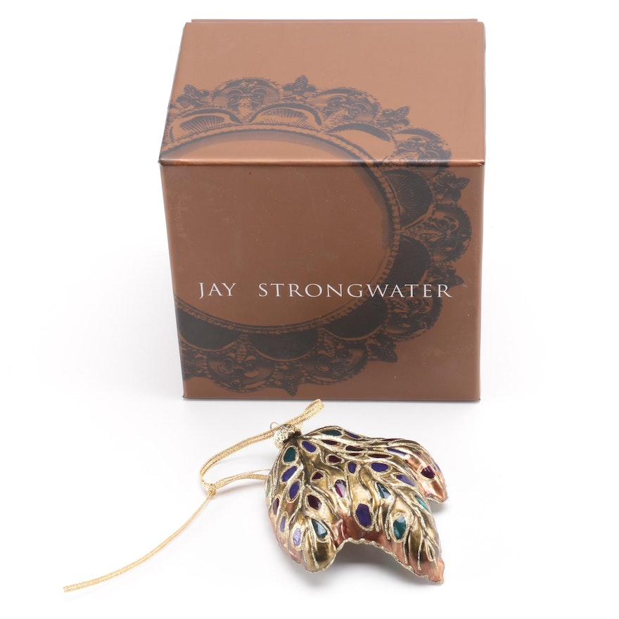 Jay Strongwater Ornament Ebth