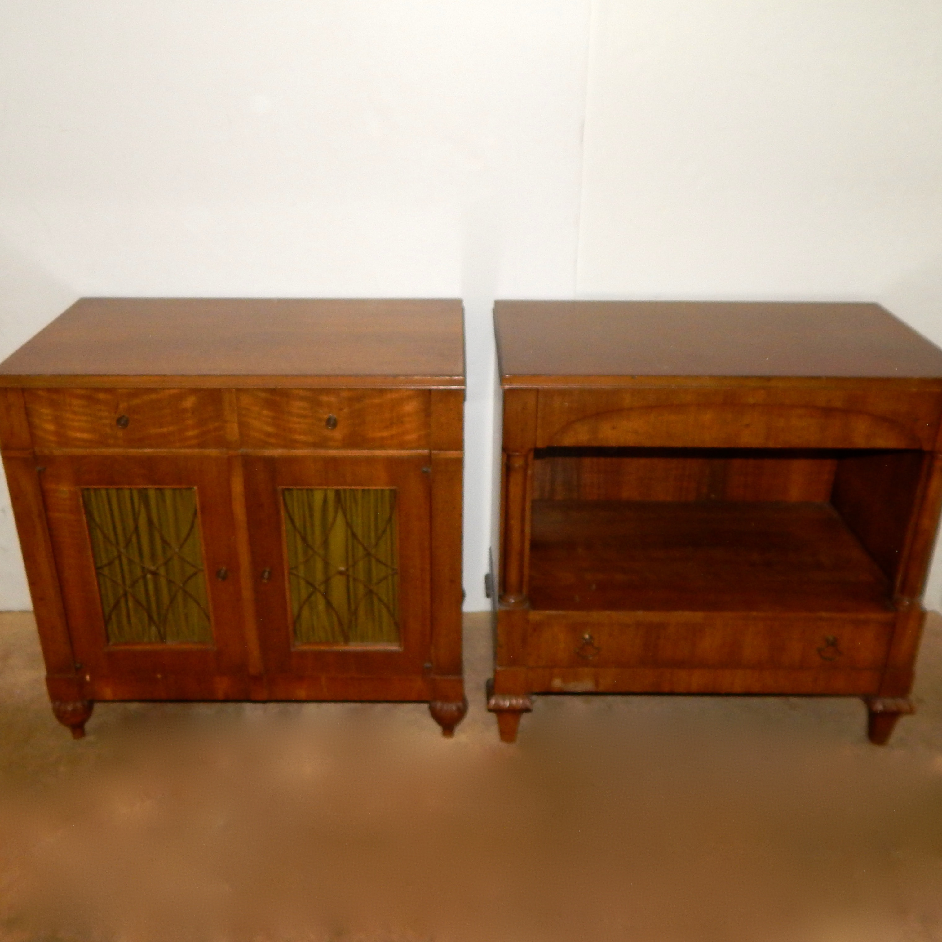 Two Mid Century Night Stands
