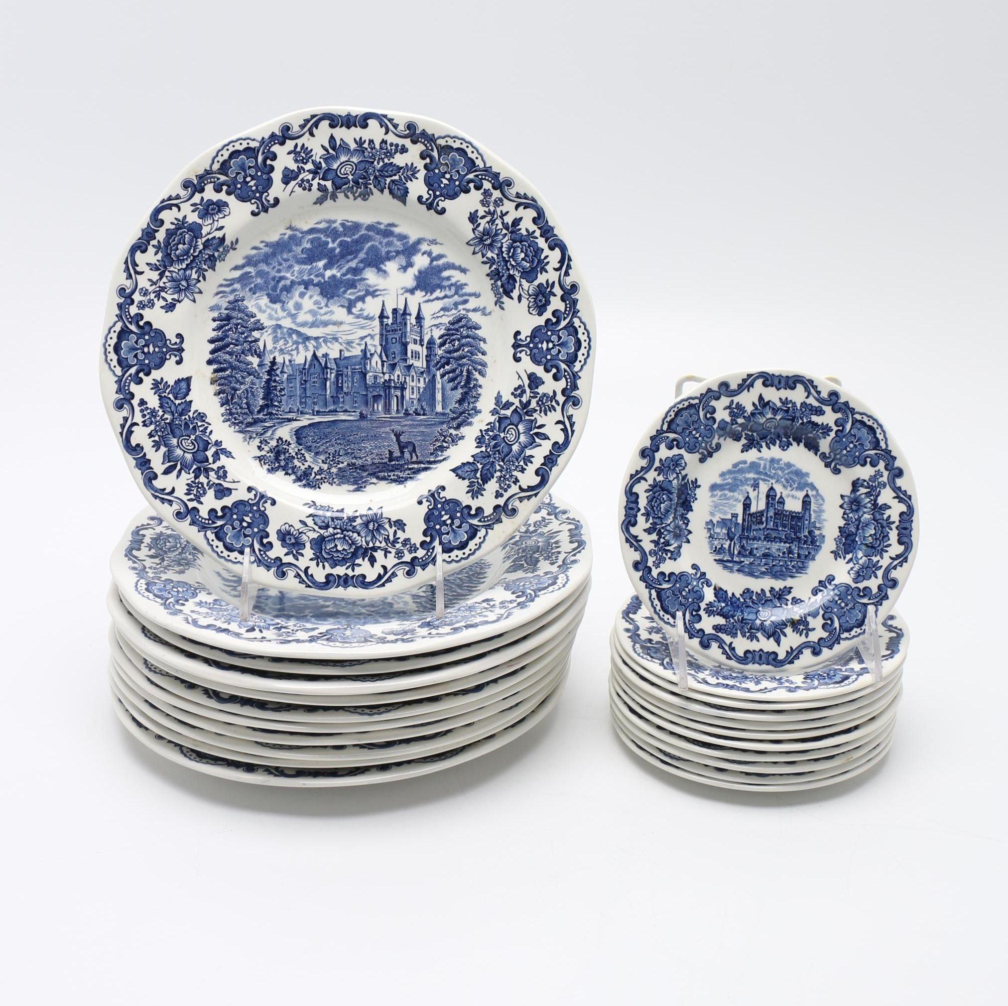 "Wedgwood ""Royal Homes of Britain"" Tableware Set"