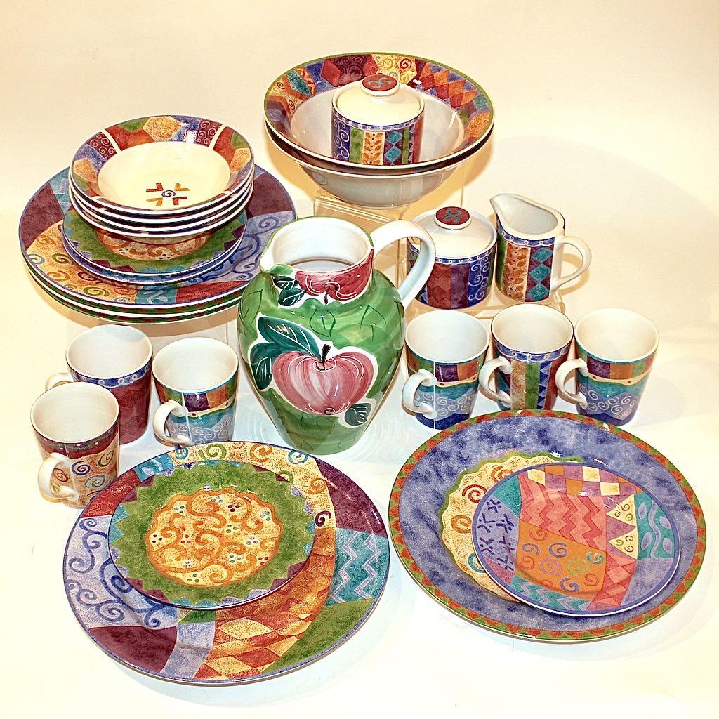 PotPourri Mix & Match Dinnerware by Sango & Sue Zipkin