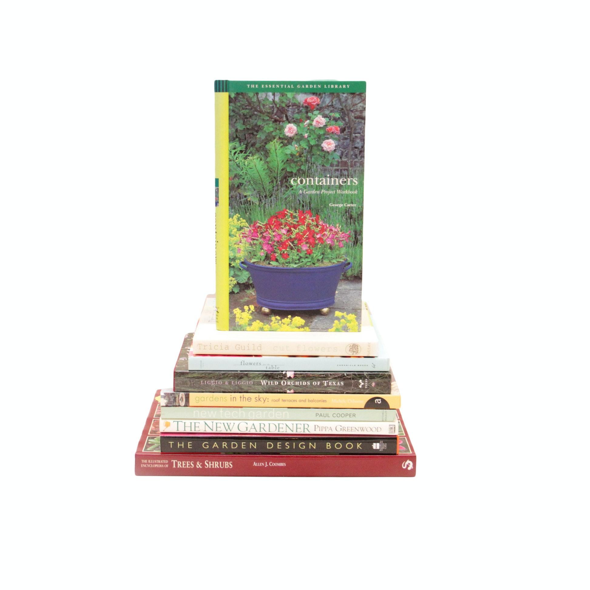 Collection of Garden Books