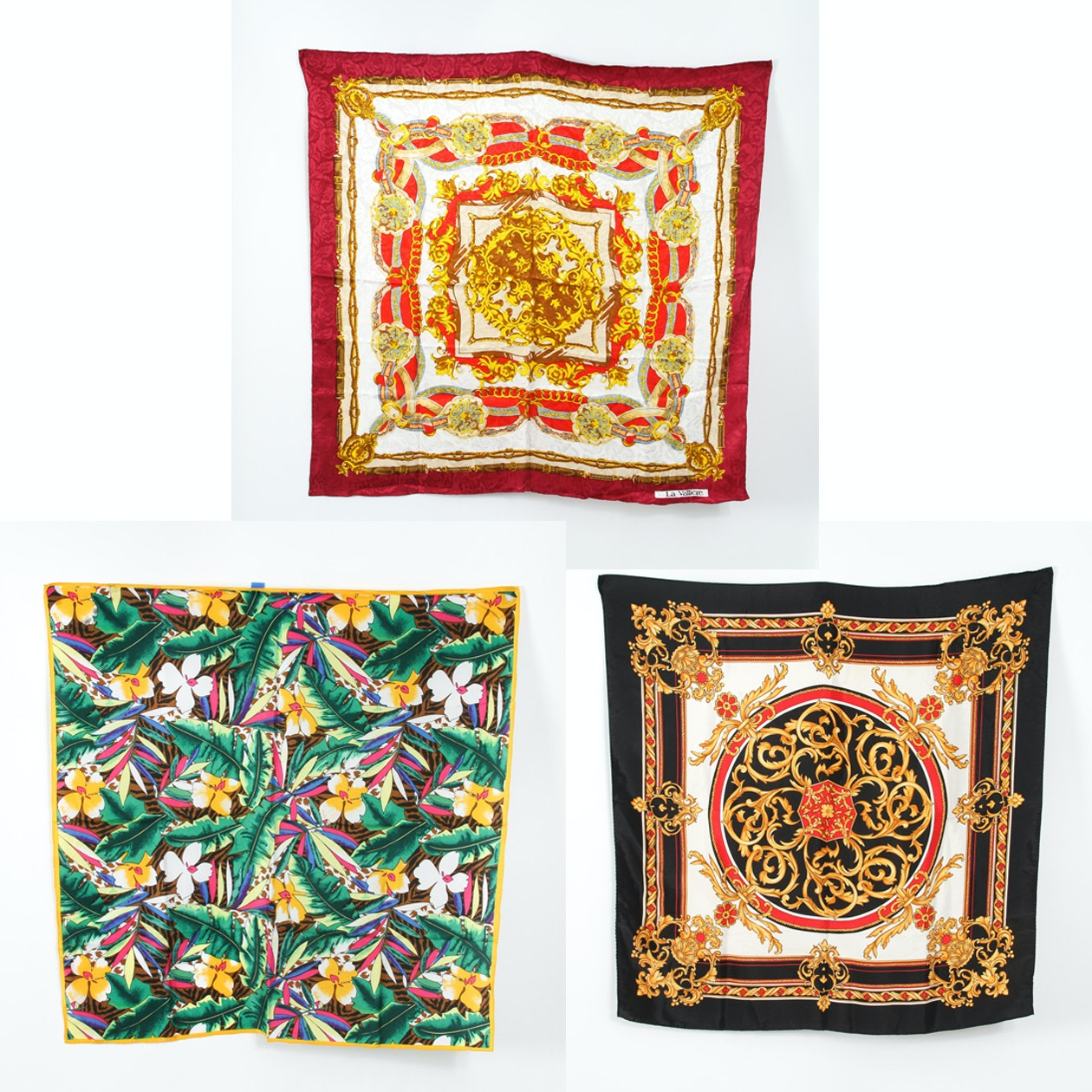 Collection of Silk Scarves