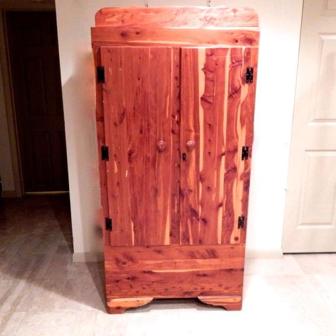 Double Door Cedar Wardrobe