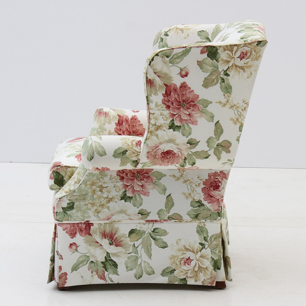 Broyhill Furniture Floral Printed Armchair | EBTH