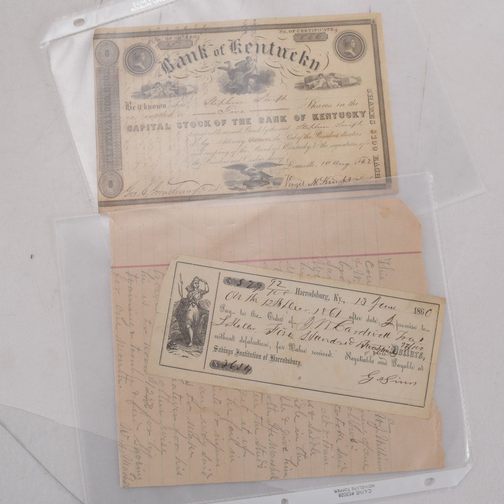Antique Paper Ephemera