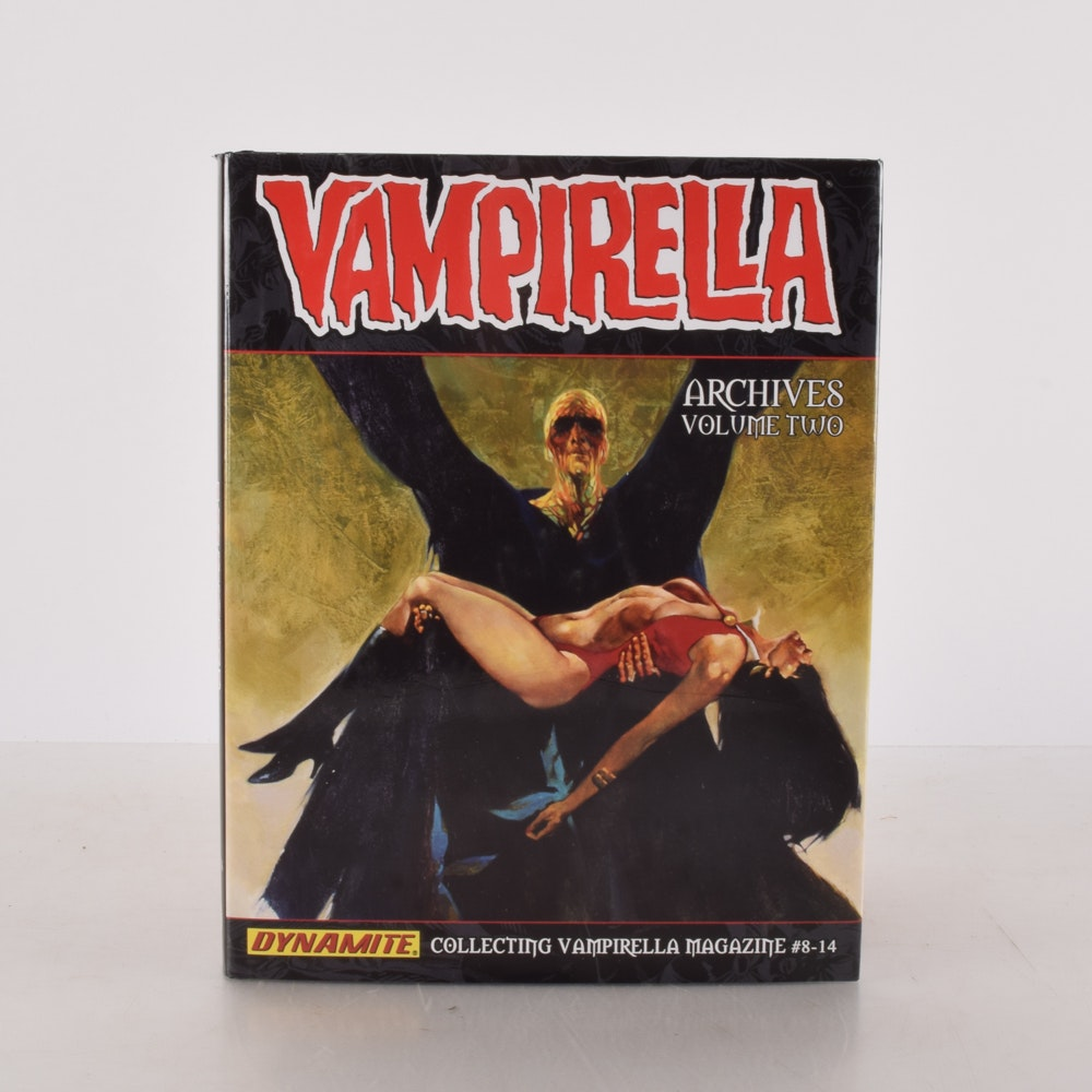 """Bound Collection of """"Vampirella Archives"""", Volume Two"""