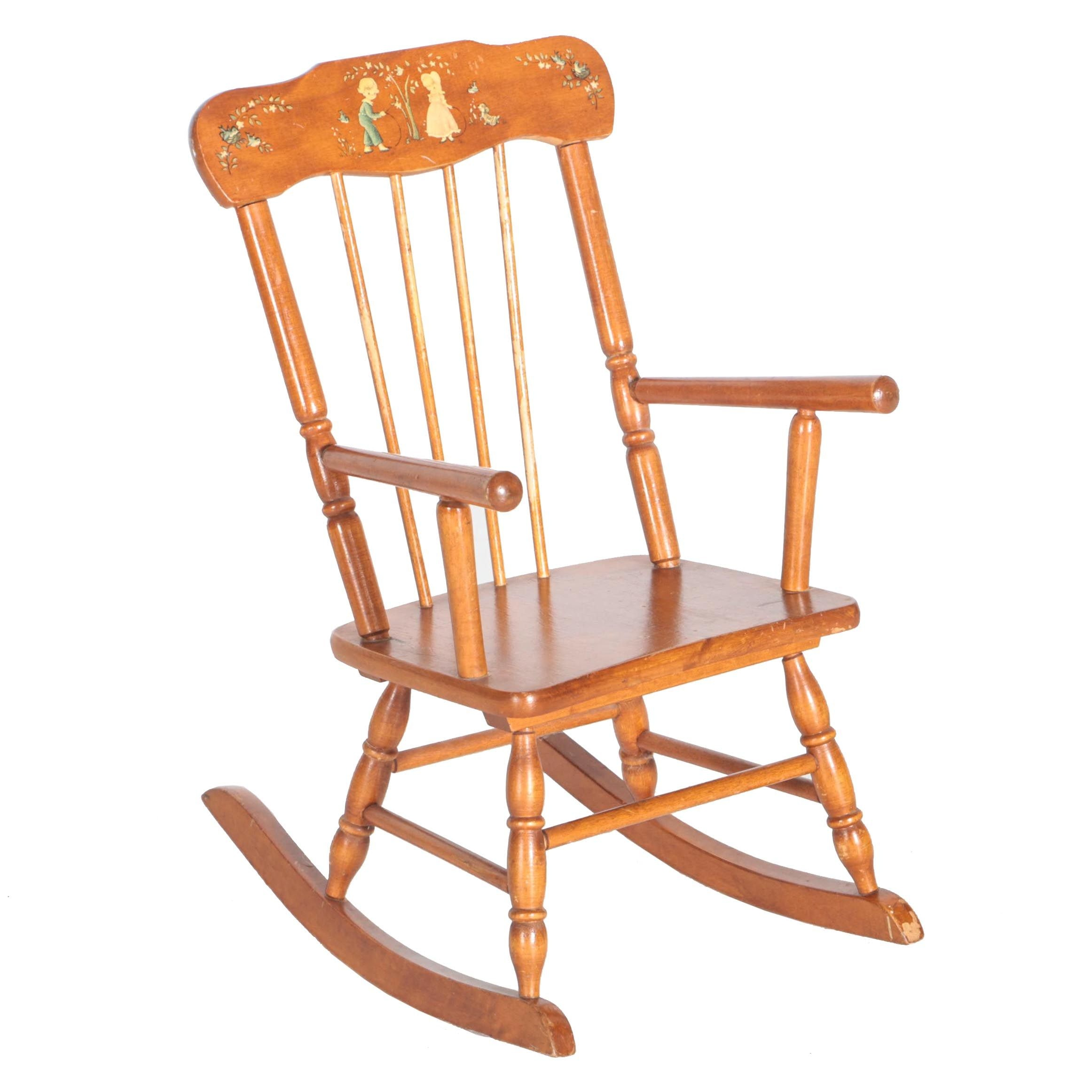 Vintage Children's Rocking Chair