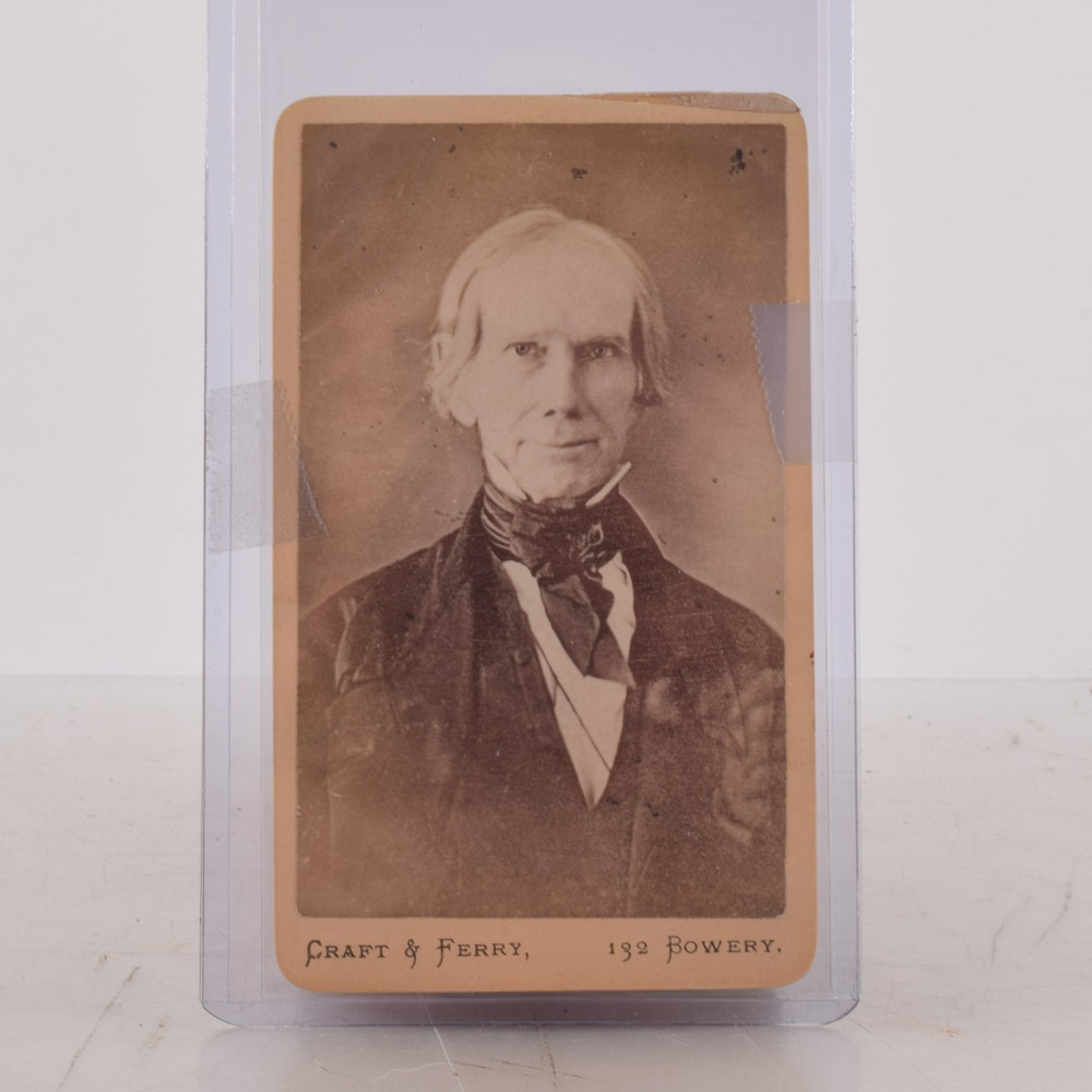Craft & Ferry Photo Card Featuring Henry Clay