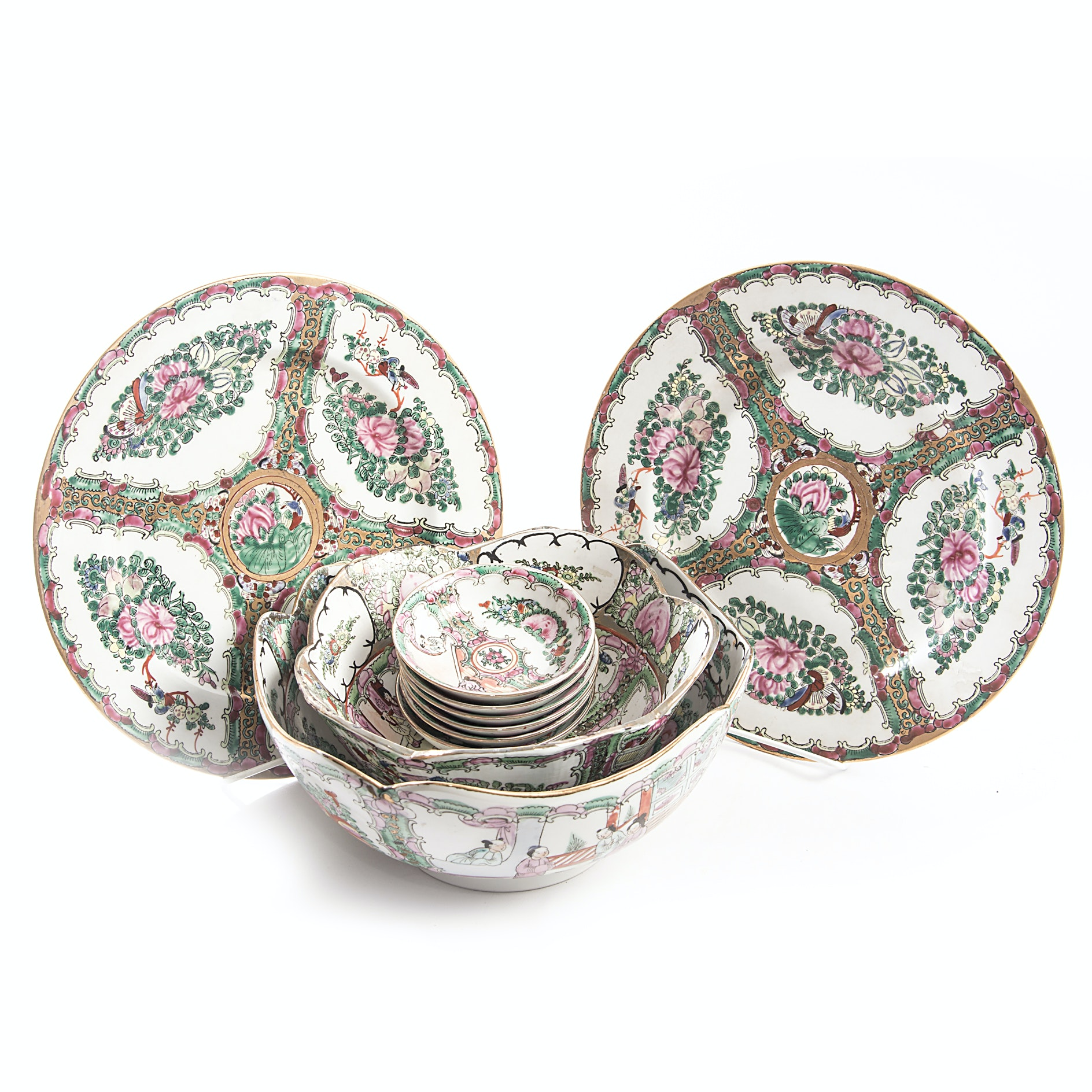 Chinese Rose Medallion Tableware