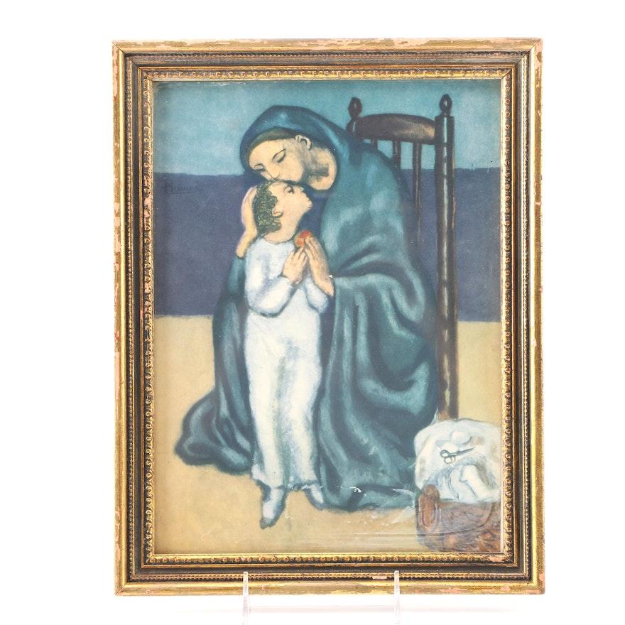 After Jacques Villon Offset Lithograph Print \