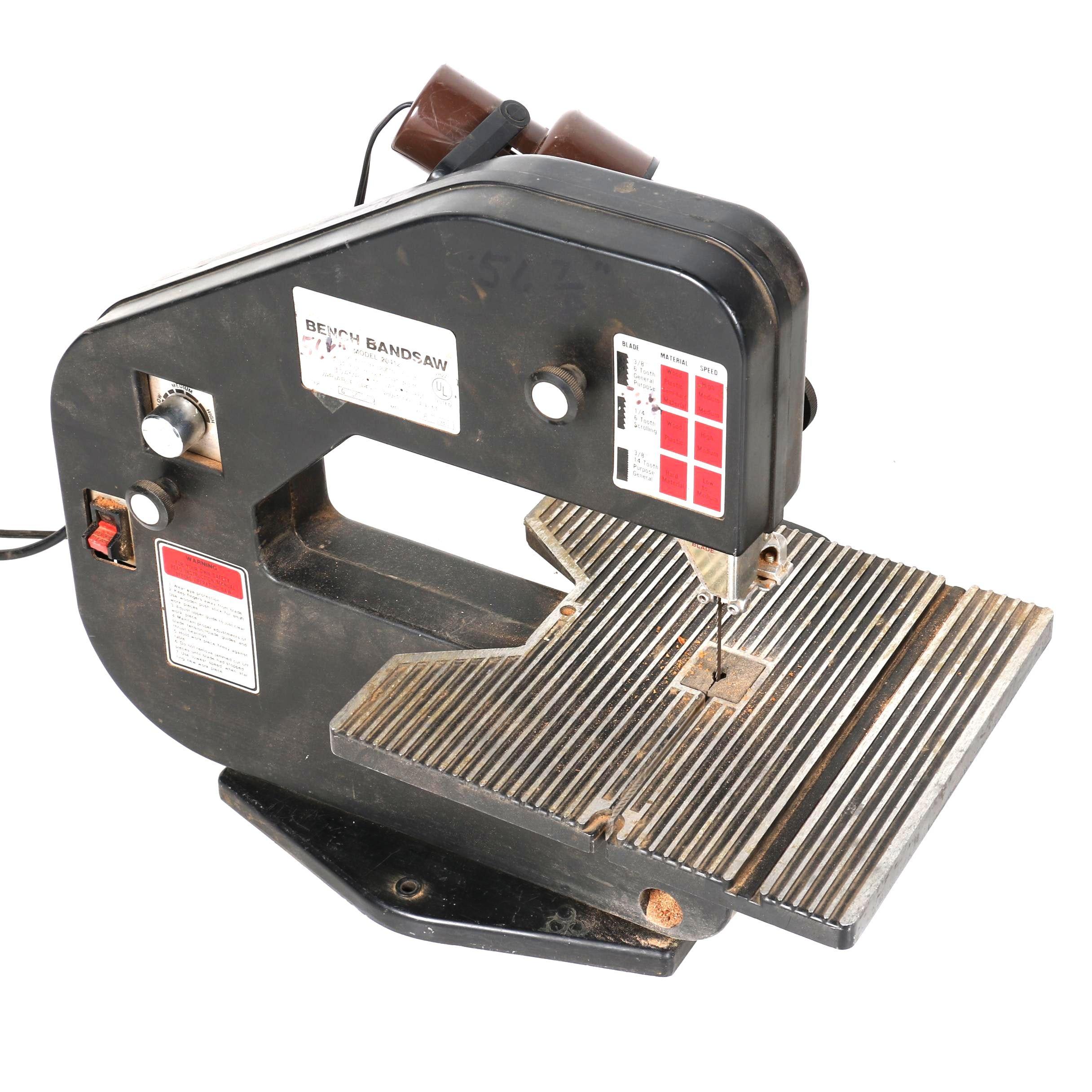 Duracraft Bench Bandsaw