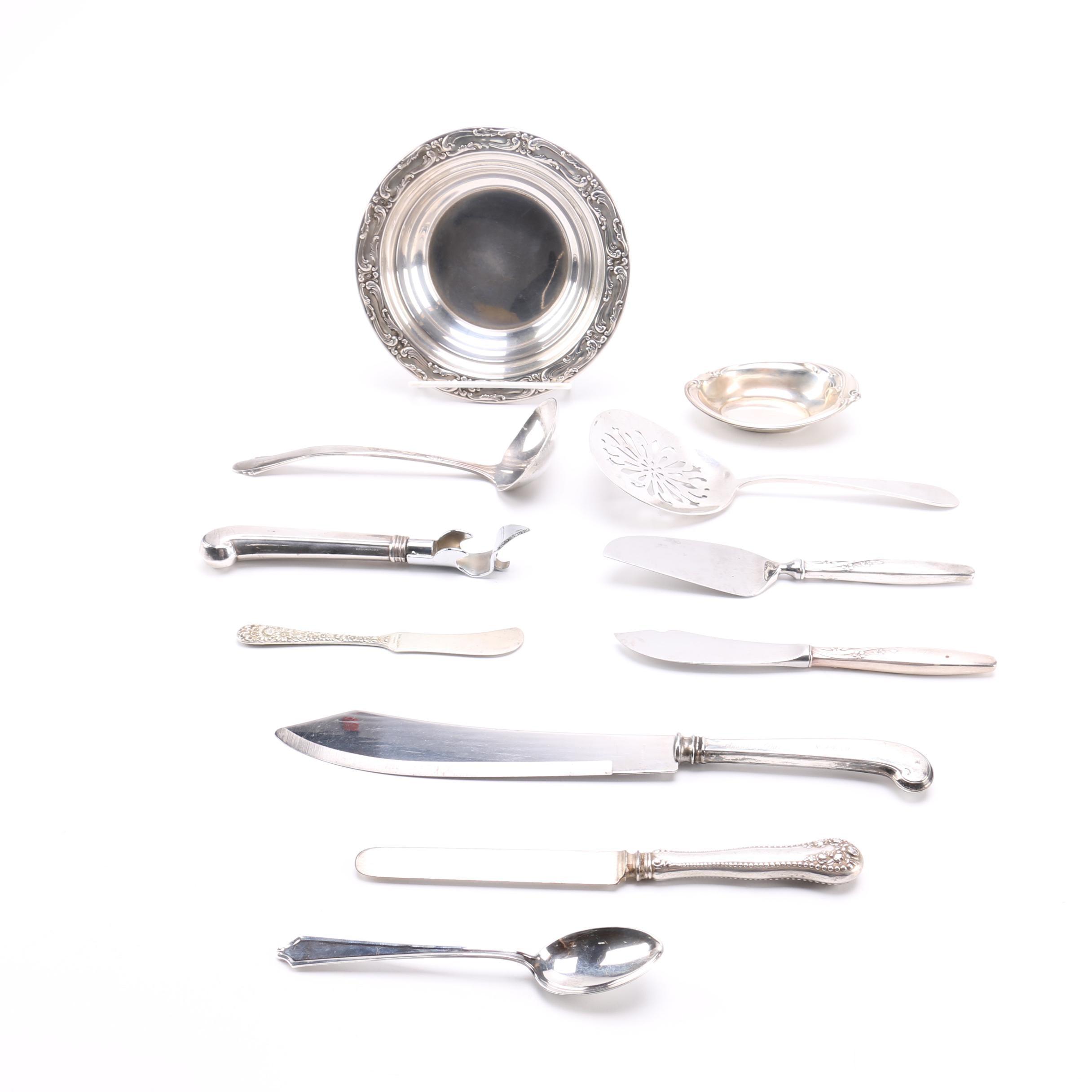 Sterling Silver Flatware Assortment Featuring Gorham