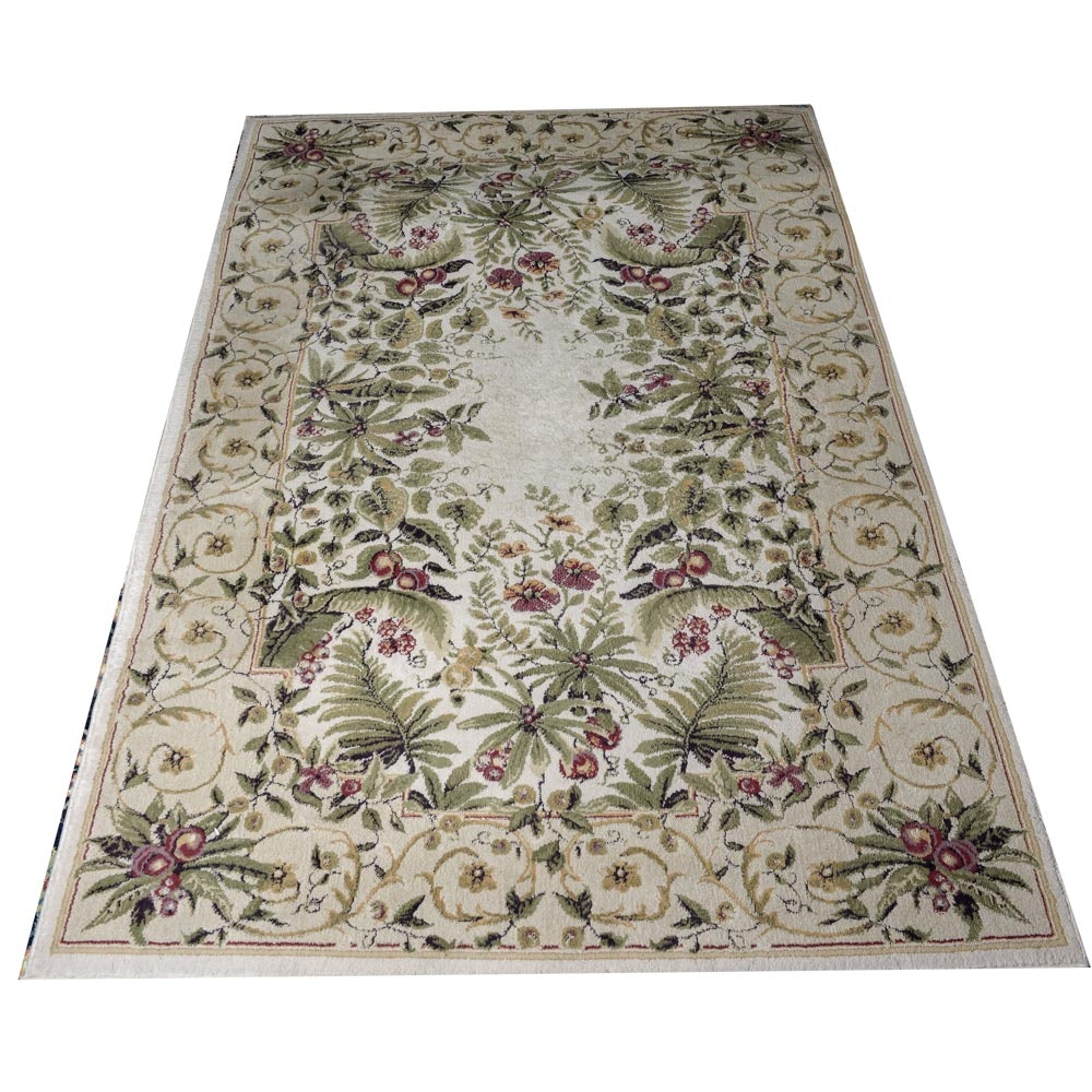 Power Loomed Persian Design Area Rug