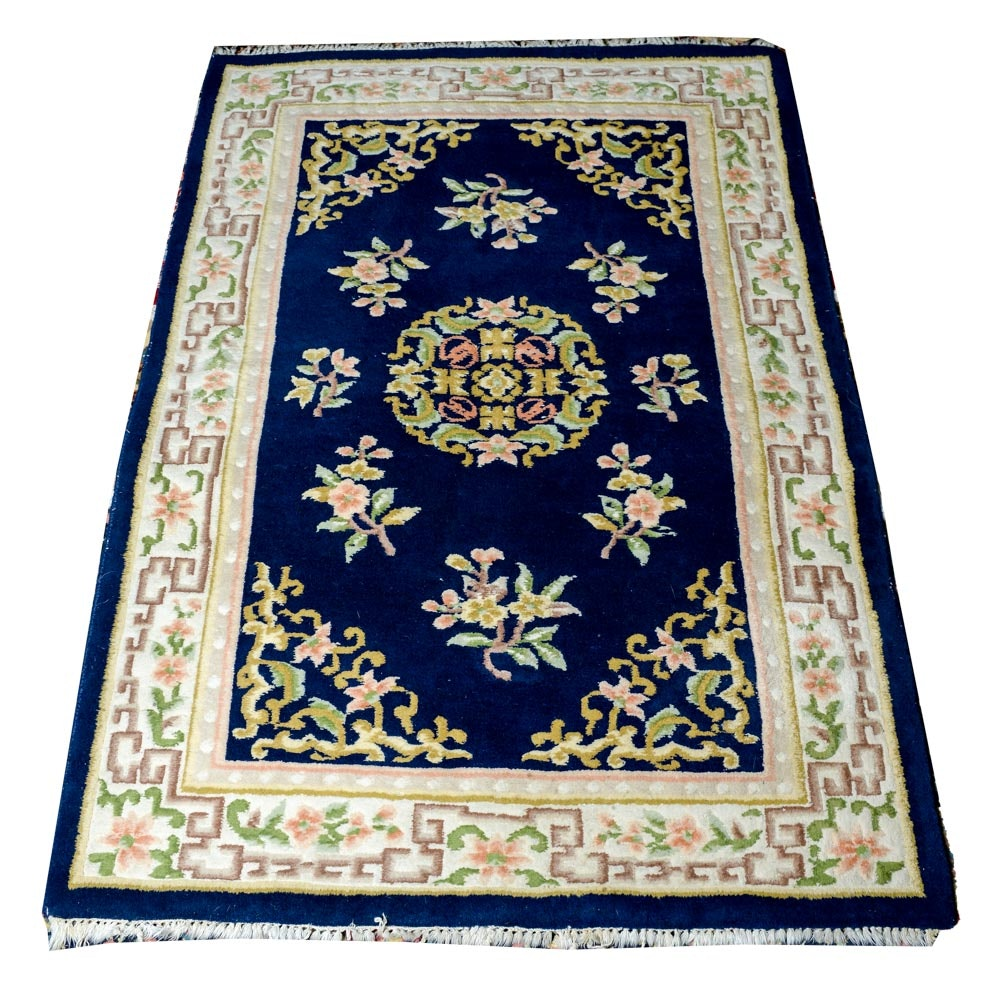 Power Loomed Indo-Chinese Area Rug