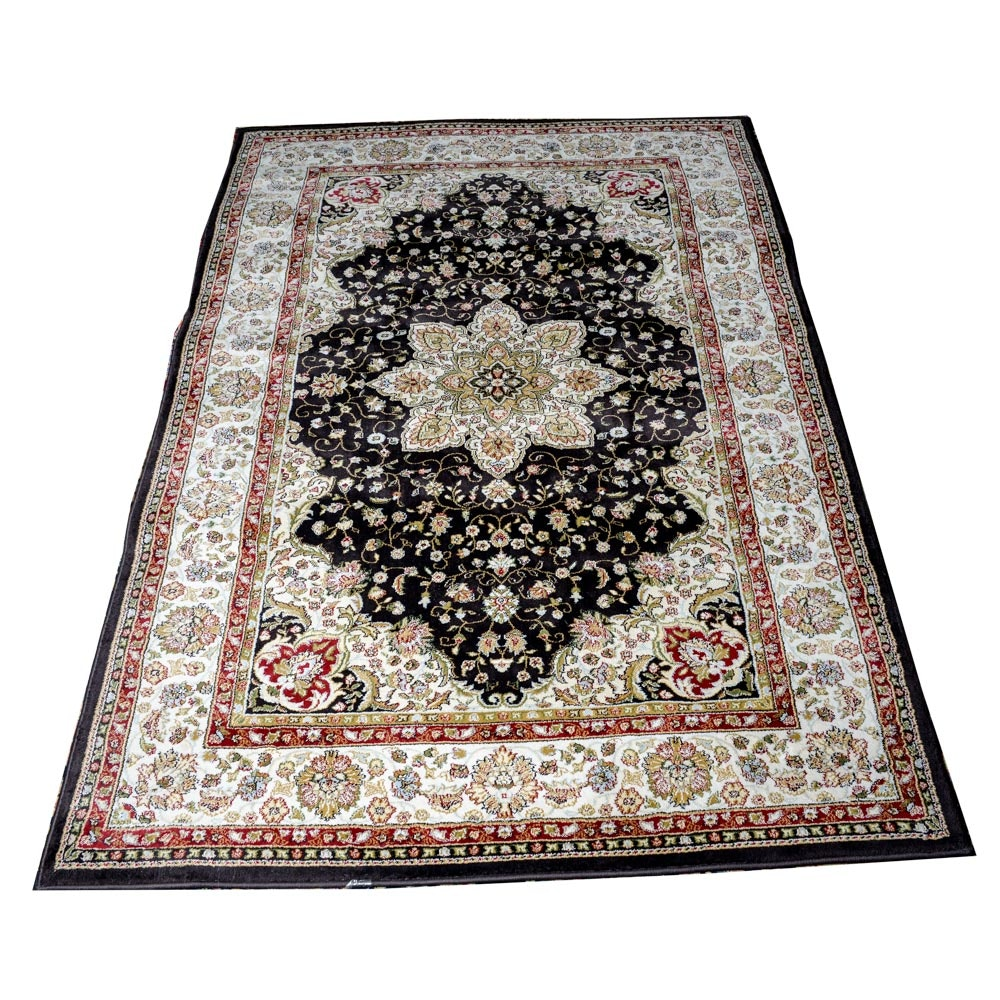 Power Loomed Persian Design Area Rug by Emir