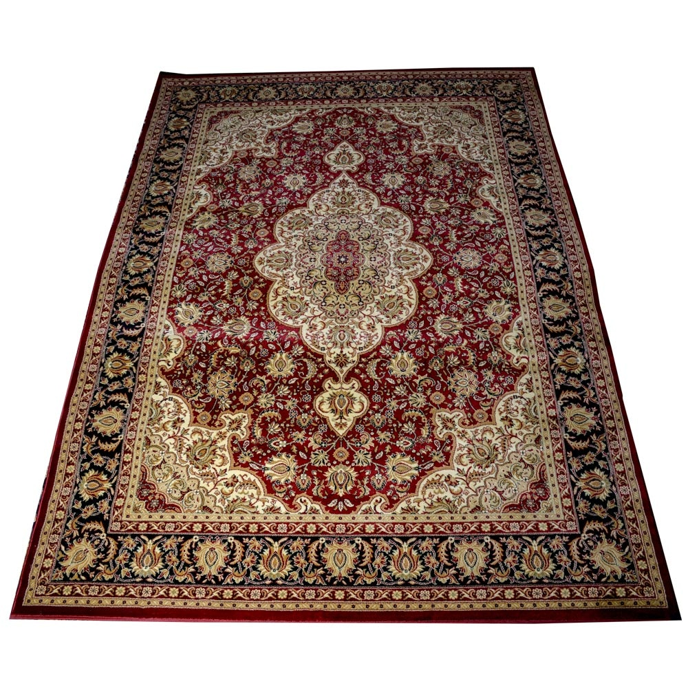 Power Loomed Persian Design Area Rug by New Classic