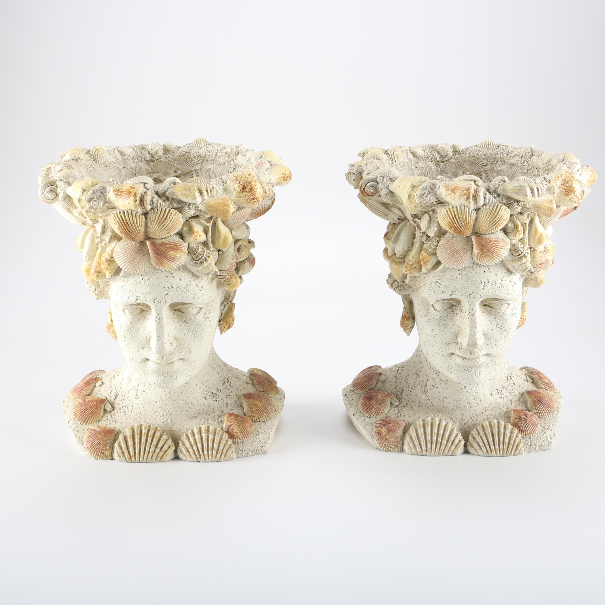 Classical Style Figural Vessels