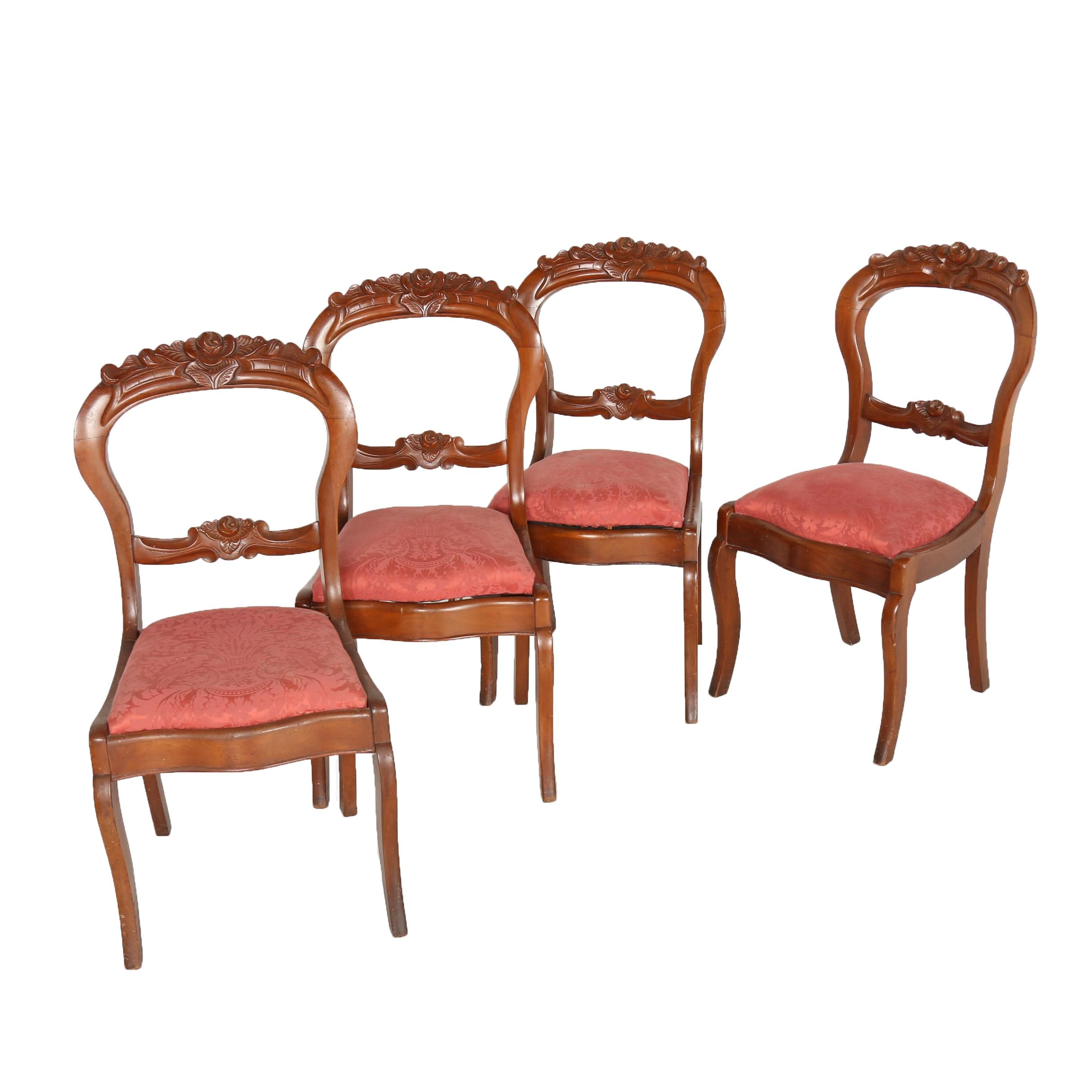 Vintage Victorian Style Dining Chairs