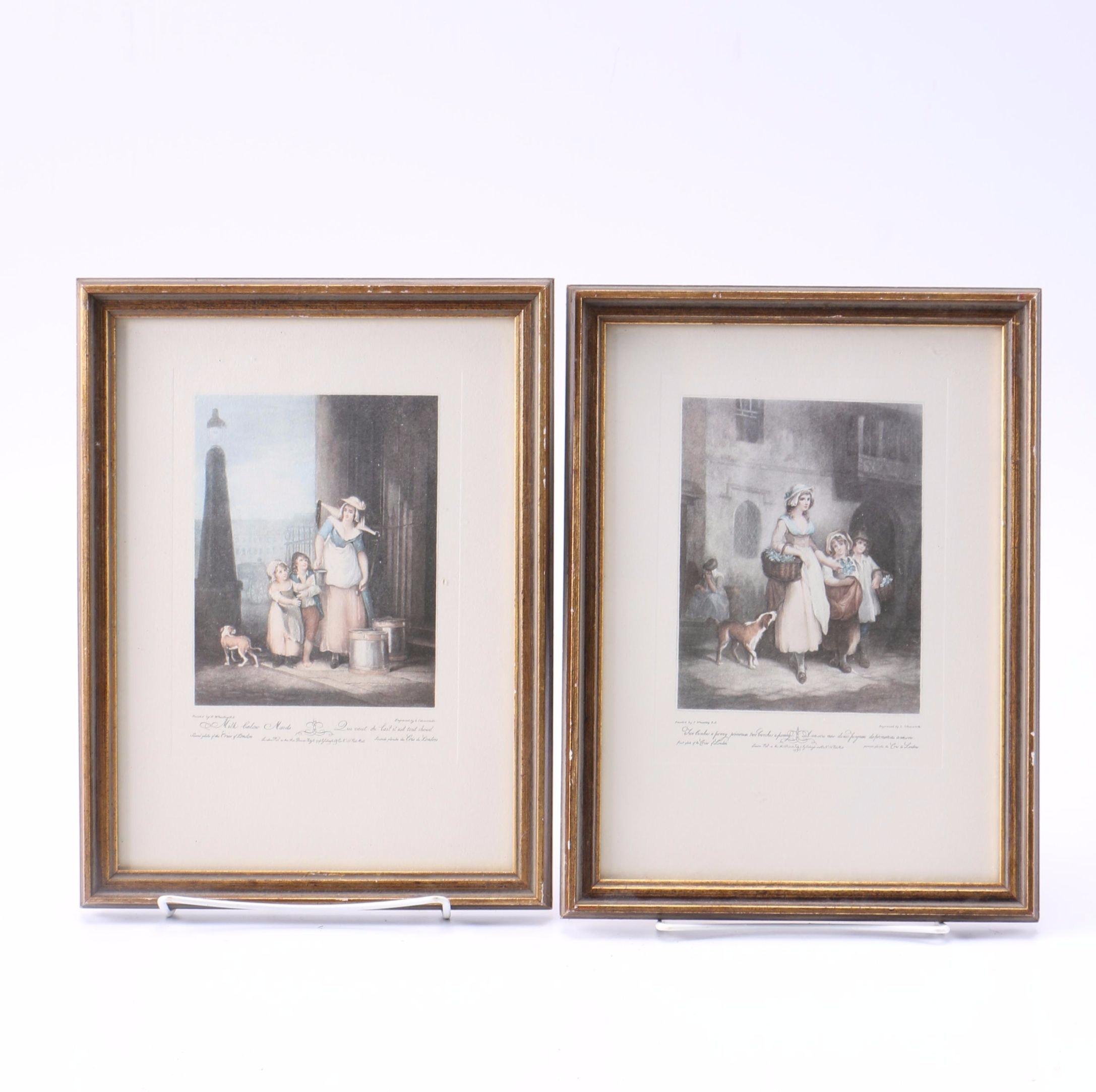 Offset Lithographs After Luigi Schiavonetti Engravings