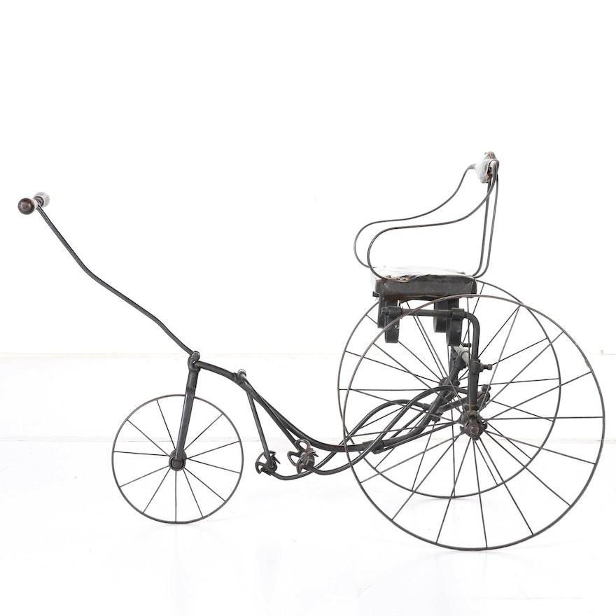 Antique Gendron Wheel Company Velocipede Tricycle