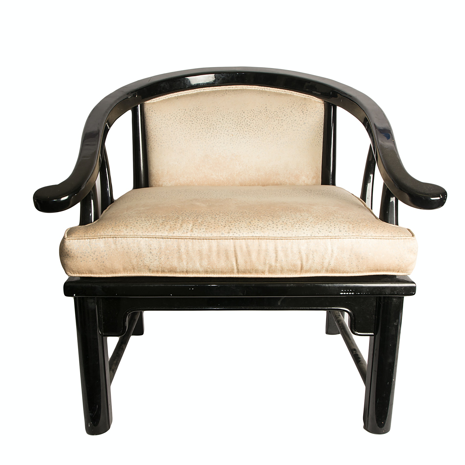 Vintage Chinese Style Horseshoe Chair