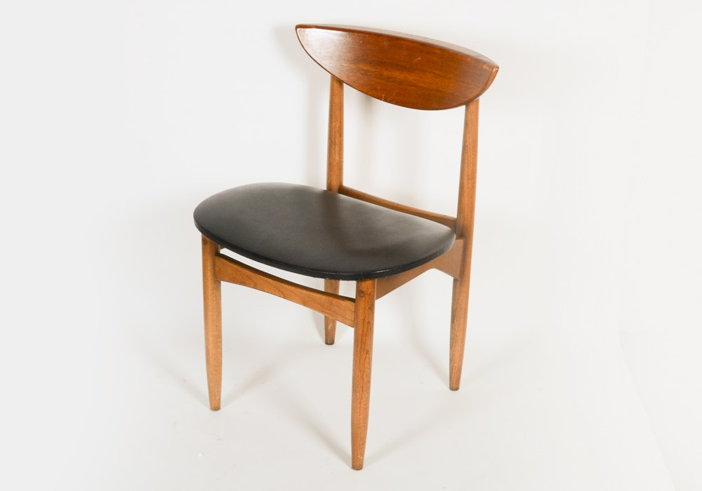Mid Century Style Wood Side Chair