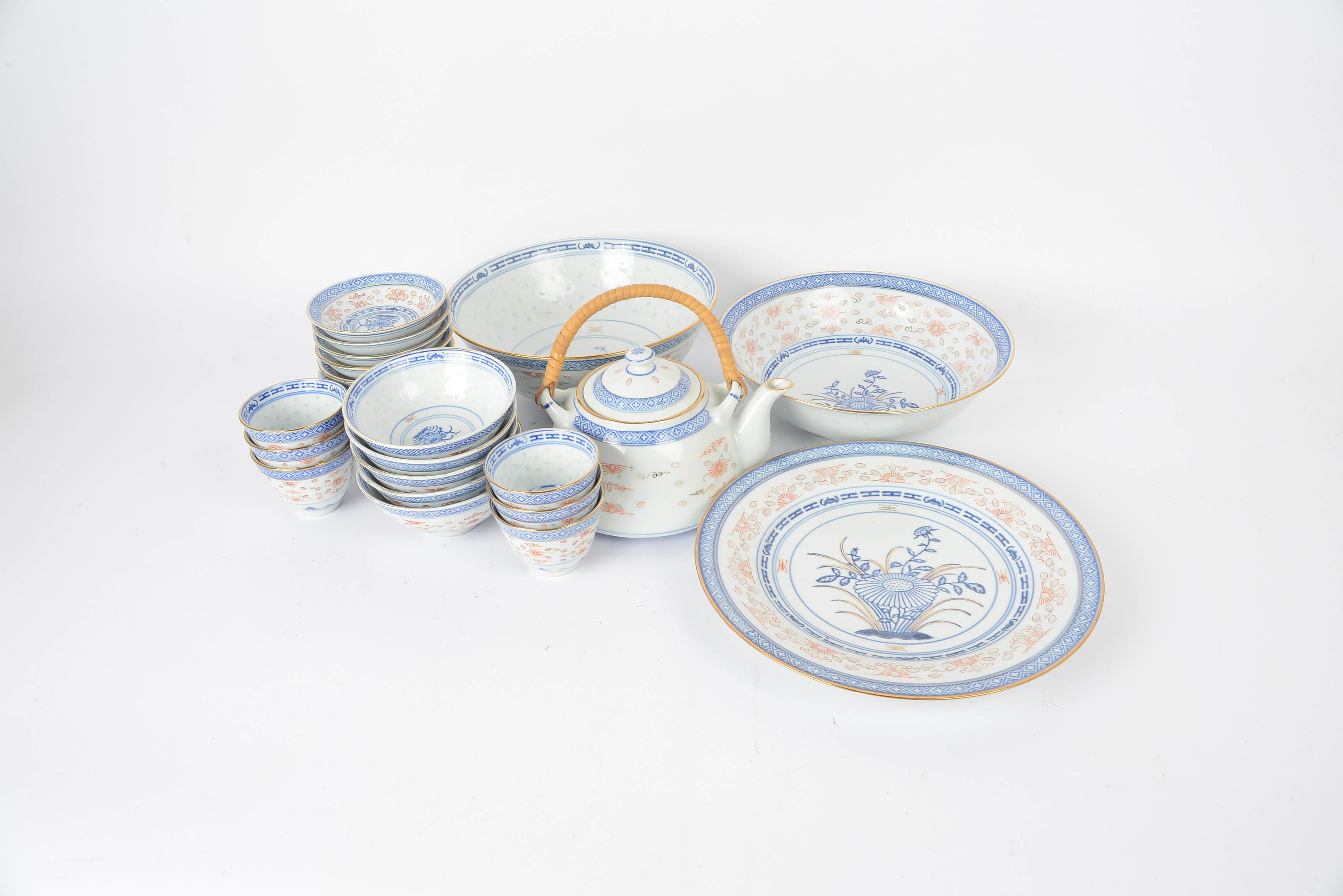 Grouping of Chinese Ceramic Dishes