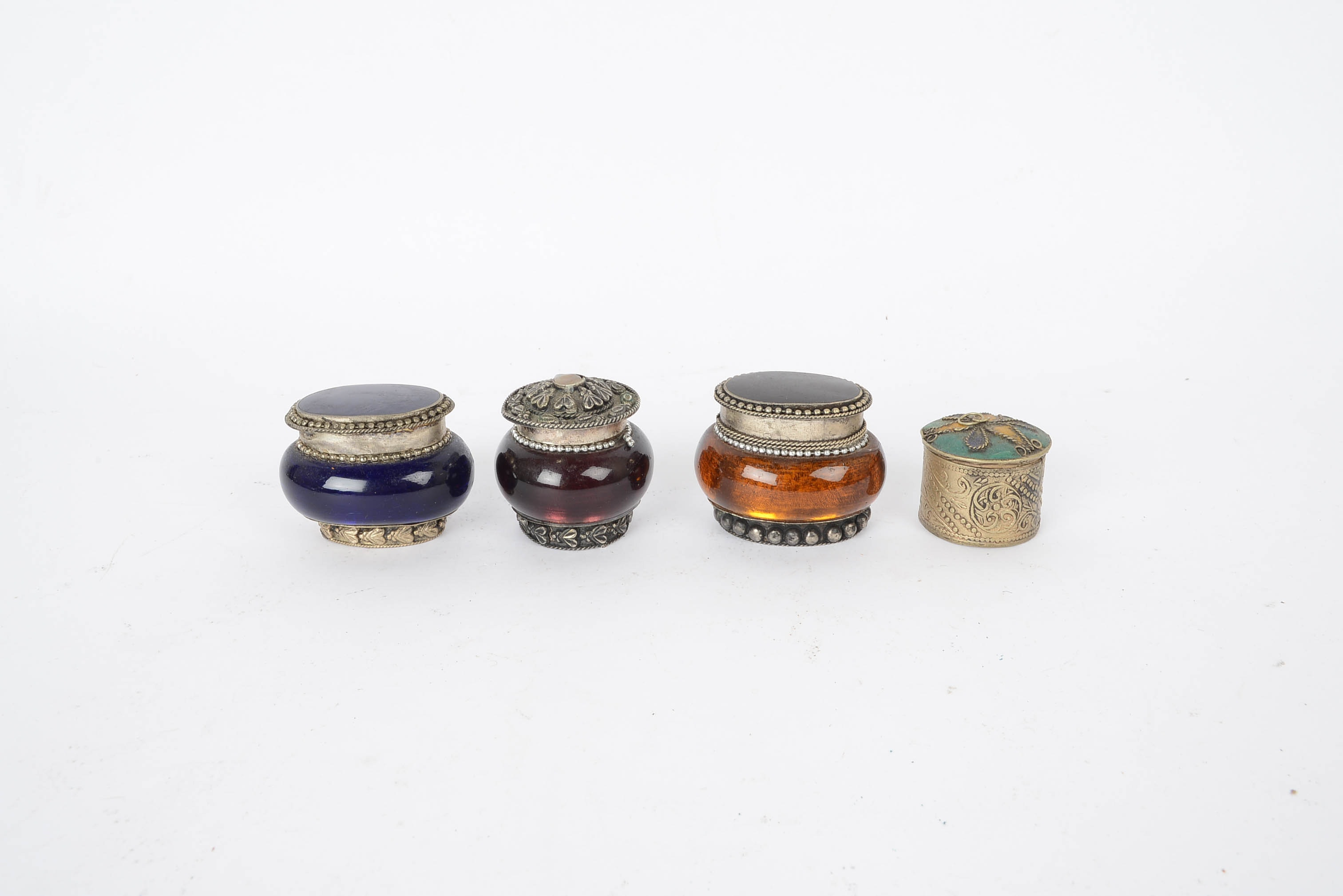 Grouping of Small Trinket Boxes