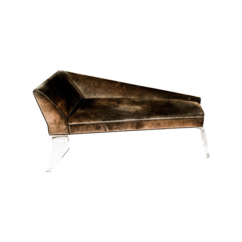 Contemporary Upholstered Fainting Couch