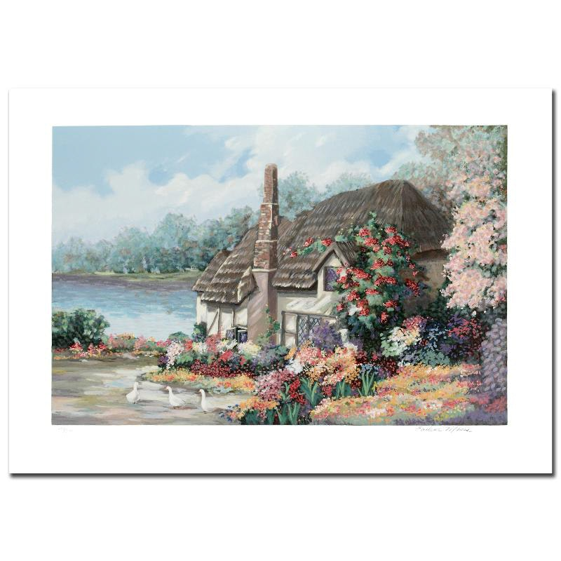 """Earlene Moses Signed Limited Edition Serigraph """"Sussex II"""""""