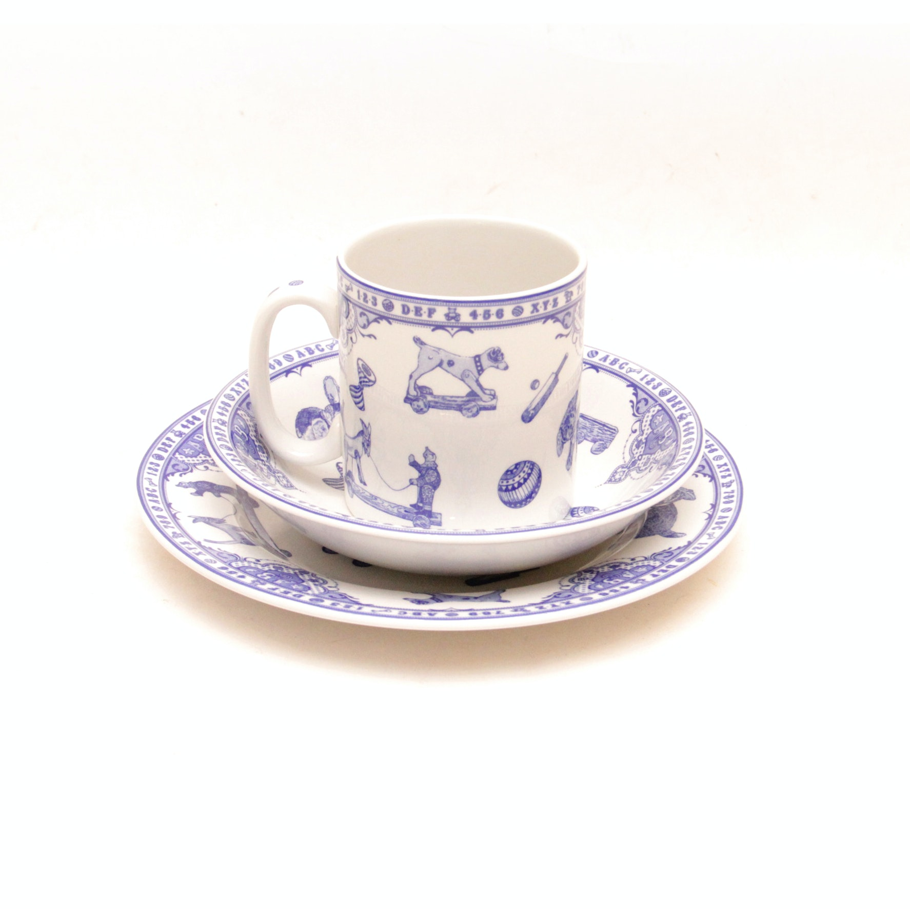 """""""Edwardian Childhood"""" Dishes by Spode"""