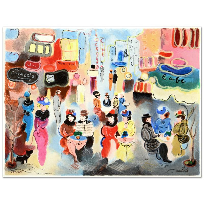 """Zule Signed Limited Edition Serigraph """"Buenos Aires"""""""
