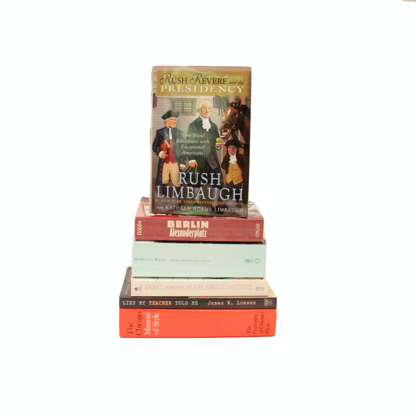 Selection of Books on History