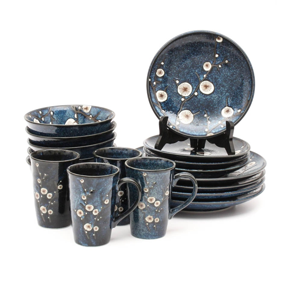 Asian Inspired Ceramic Dinnerware