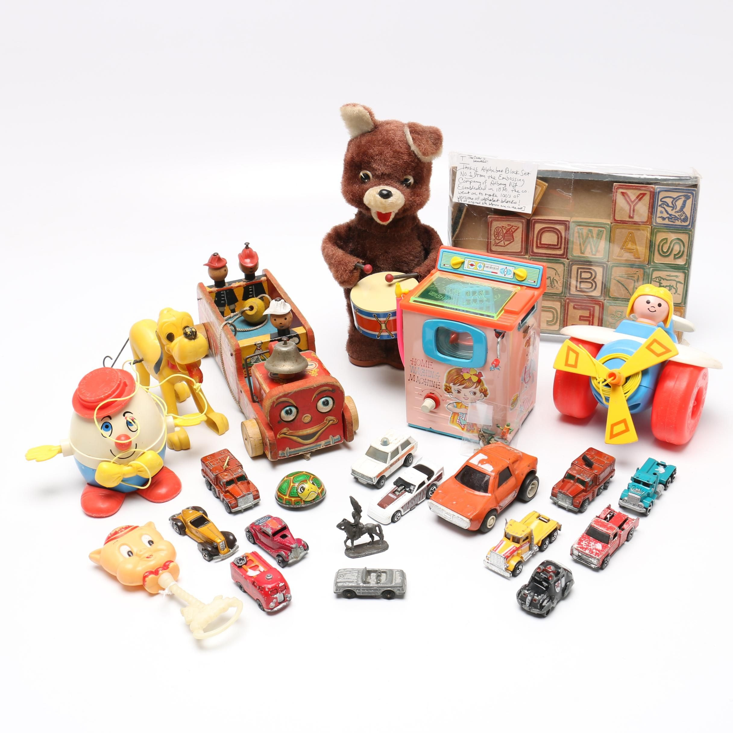 Vintage Toys Including Fisher-Price