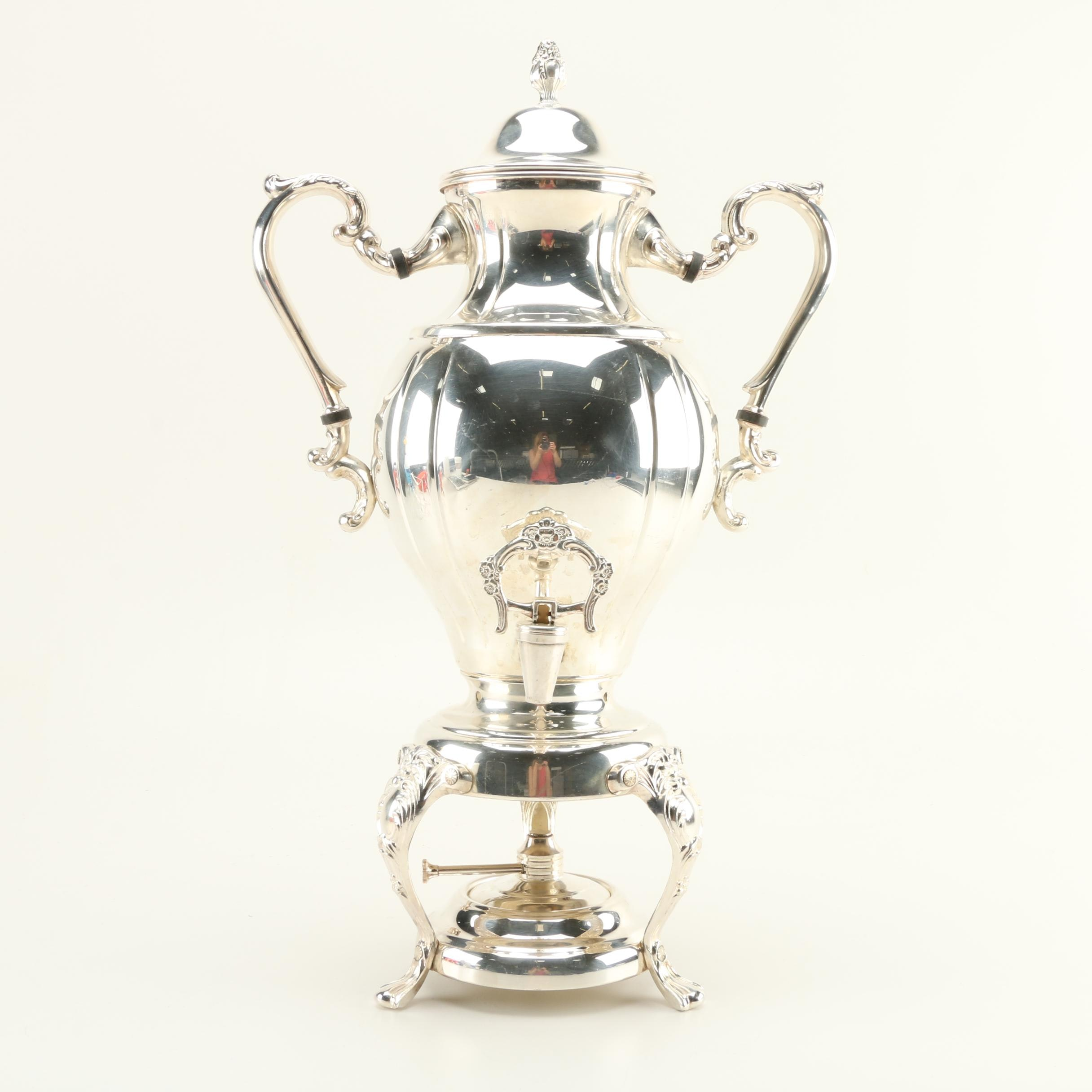Silver Plate Coffee Urn