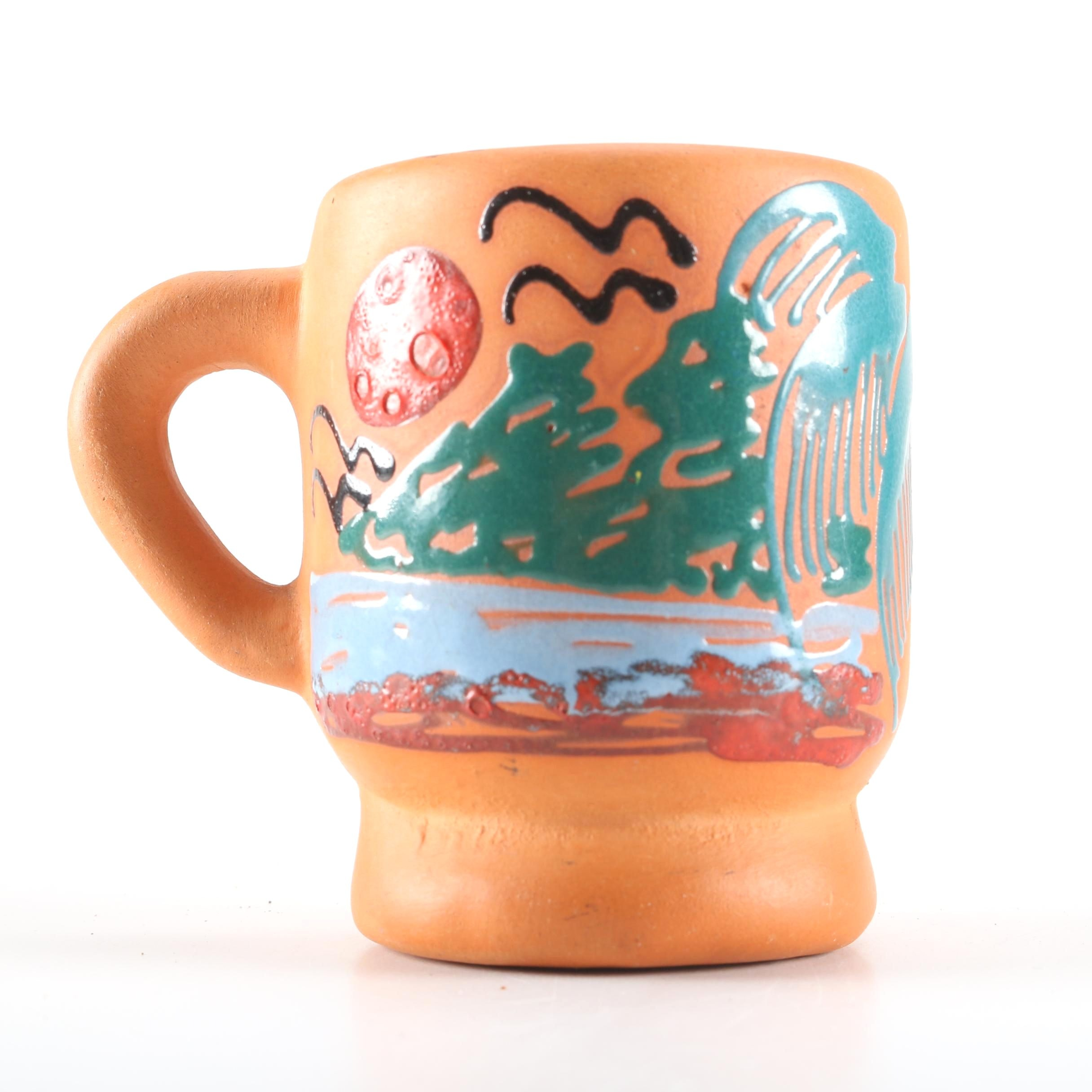 Hand Painted Ceramic Mug