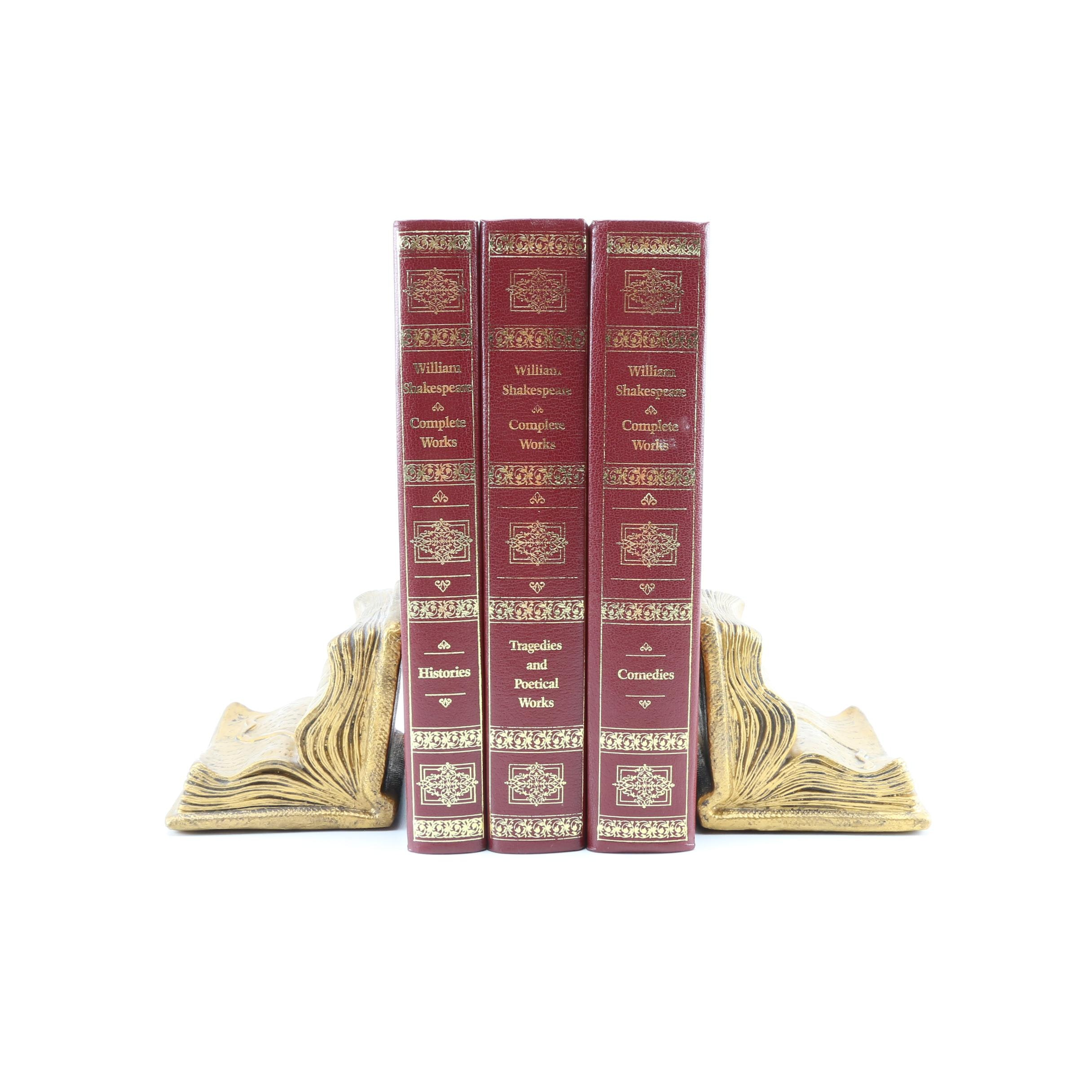 """Complete Works of William Shakespeare"" With Bookends"