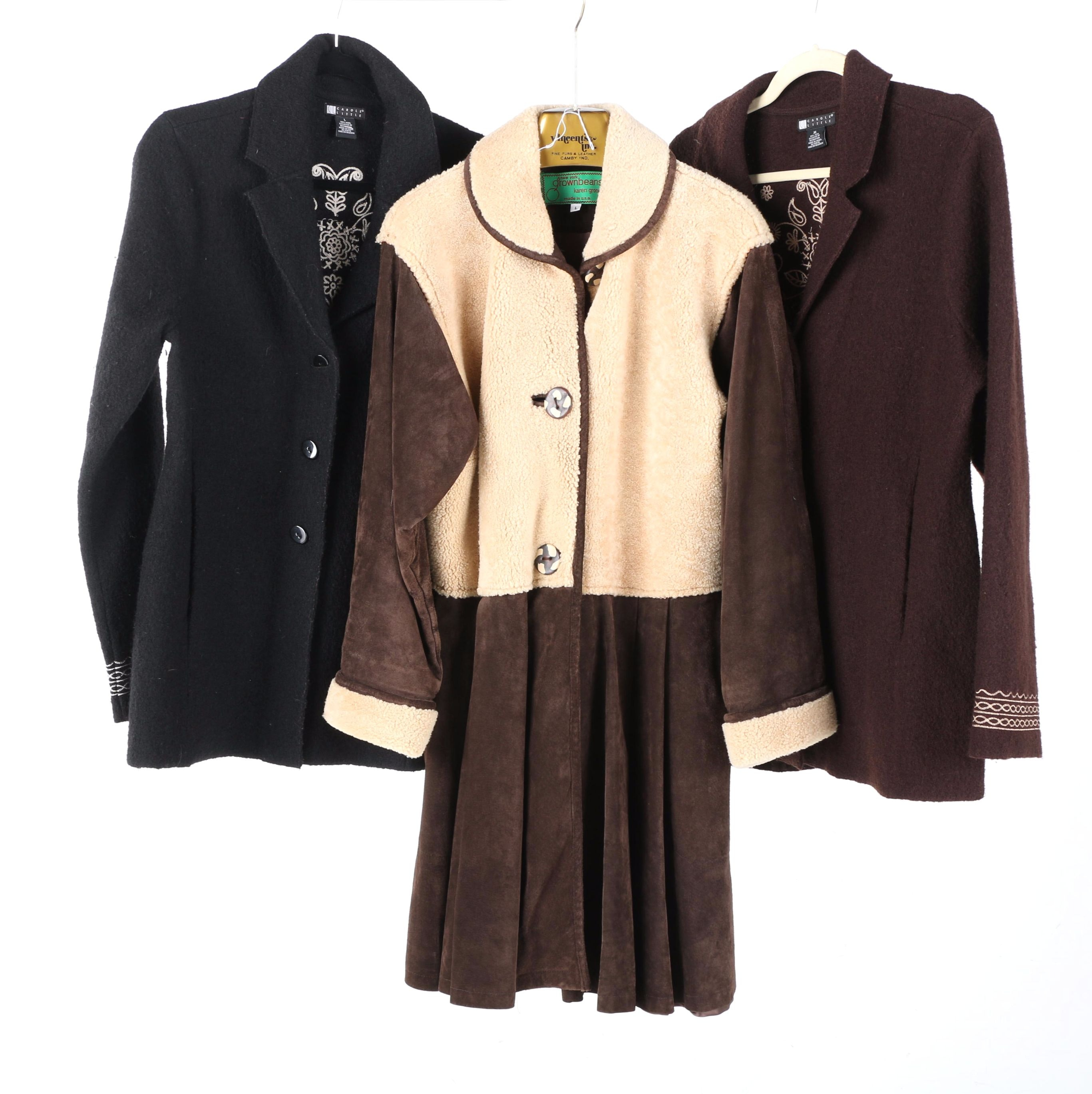 Women's Coats Including Grownbeans