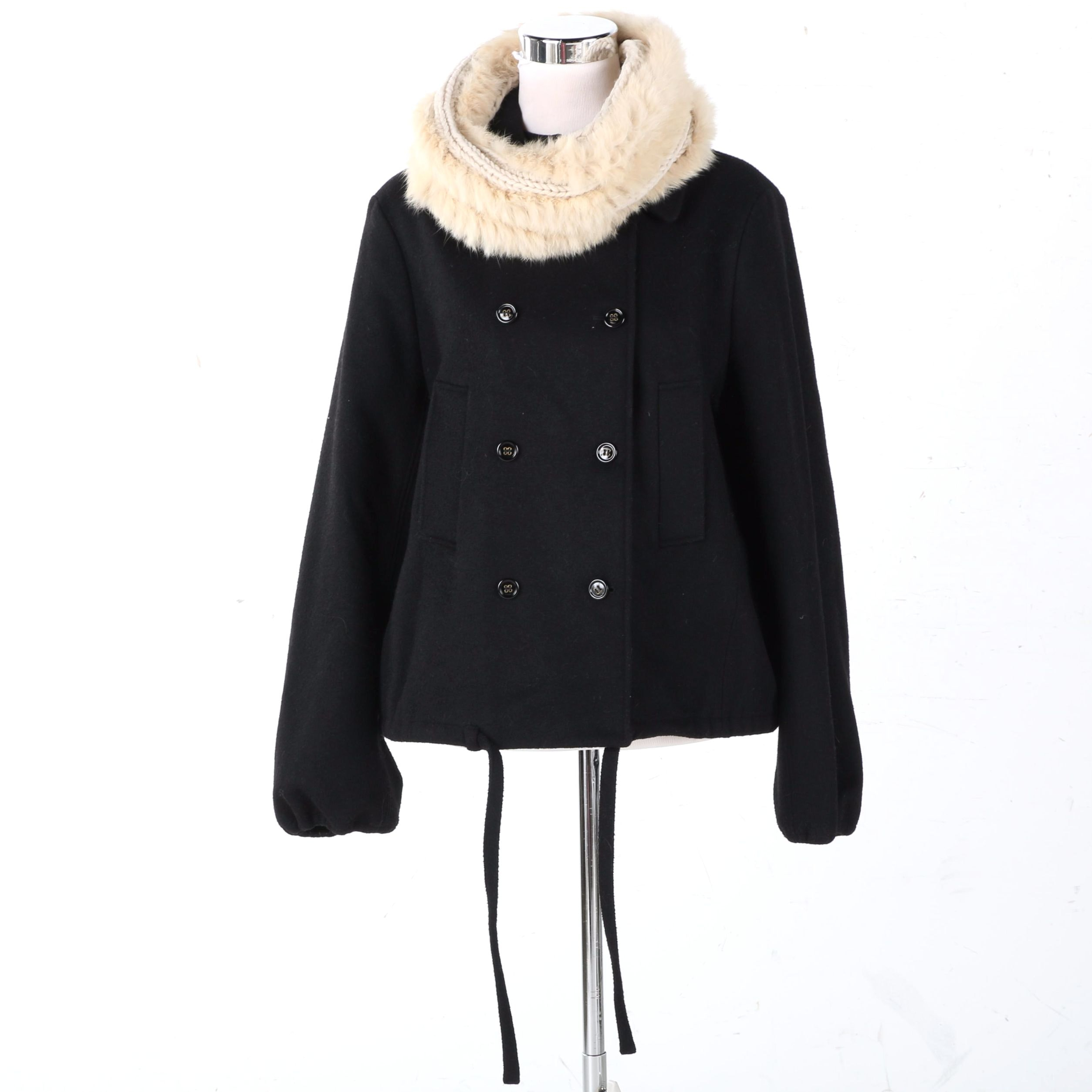 Women's Yves Saint Laurent Wool Coat
