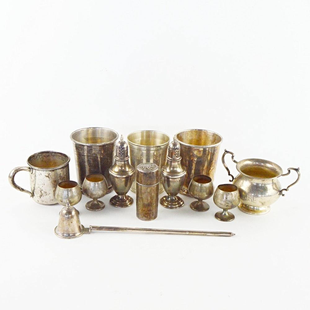 Sterling Silver Tableware Including Gorham and International