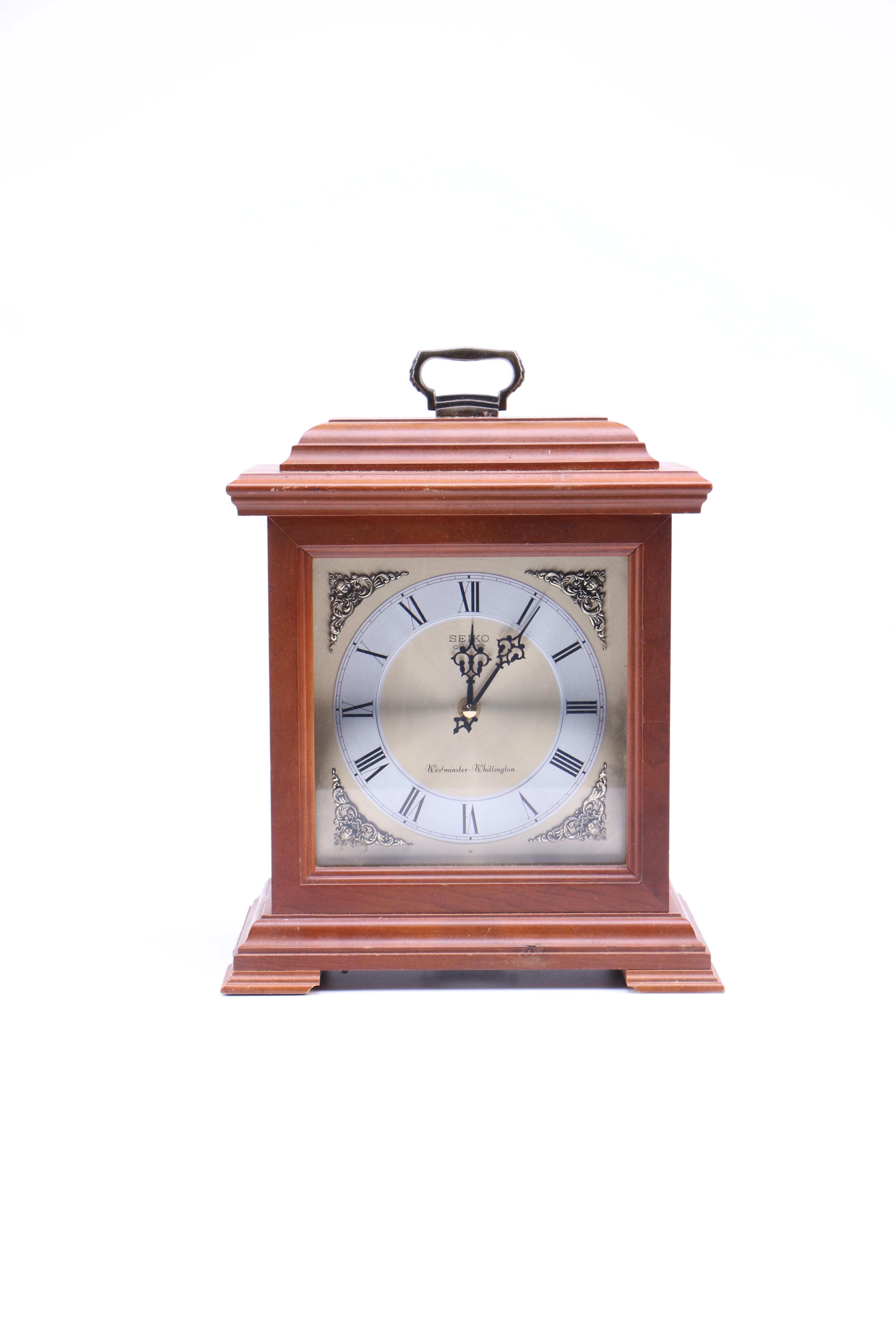 Seiko Quartz Mantle Clock
