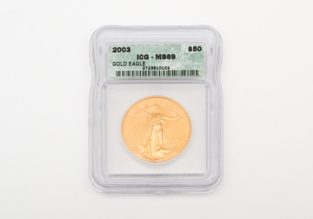 U.S. Mint 2003 Fifty Dollar Gold Eagle Coin