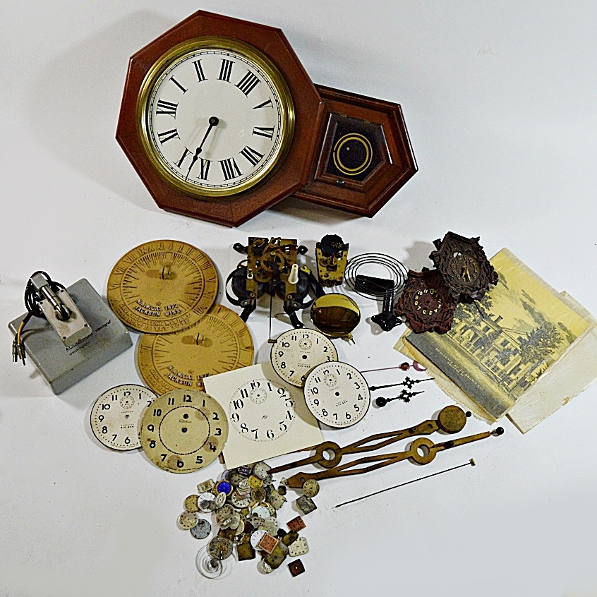 Clock and Watch Parts and Supplies