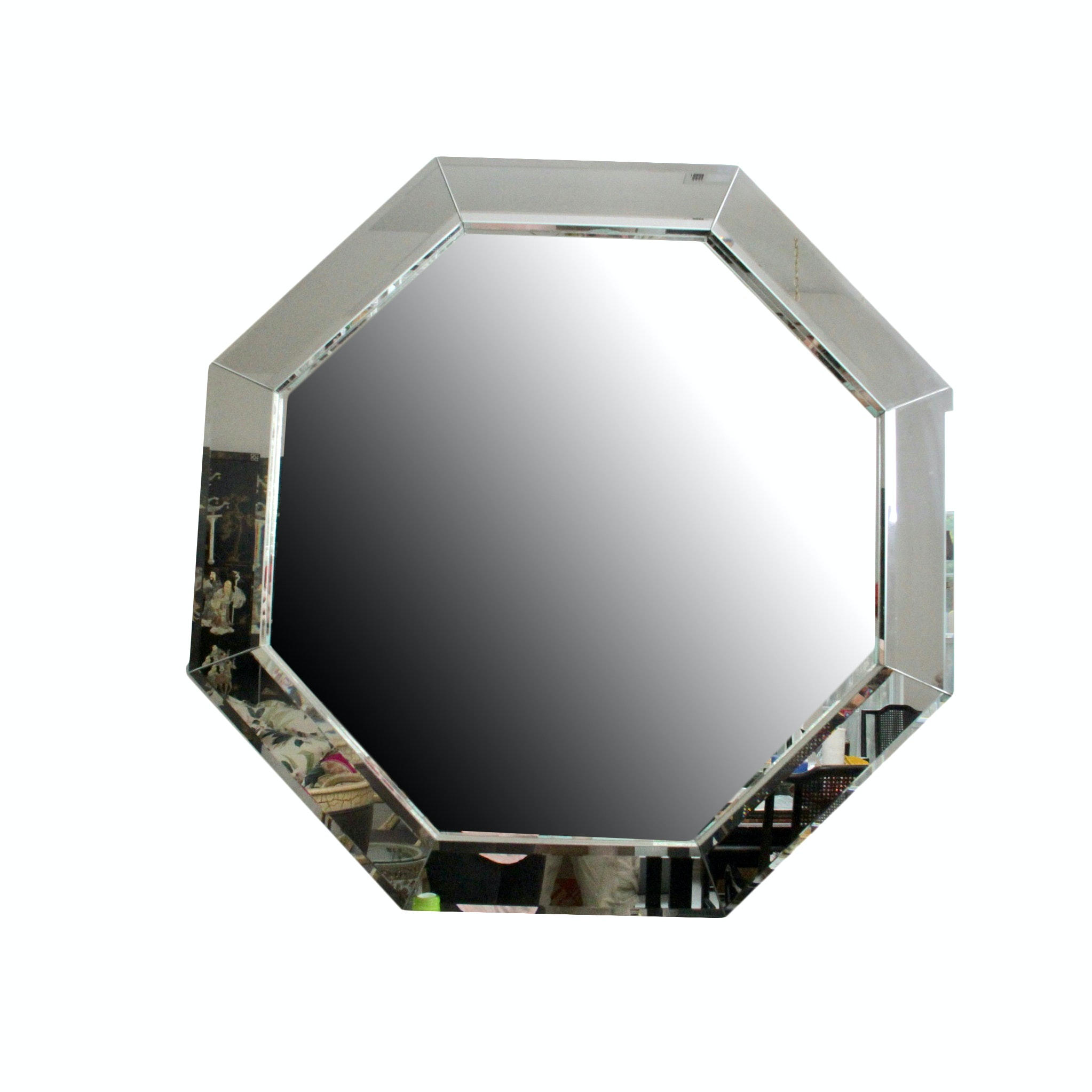 Octagonal Contemporary Glass Wall Mirror