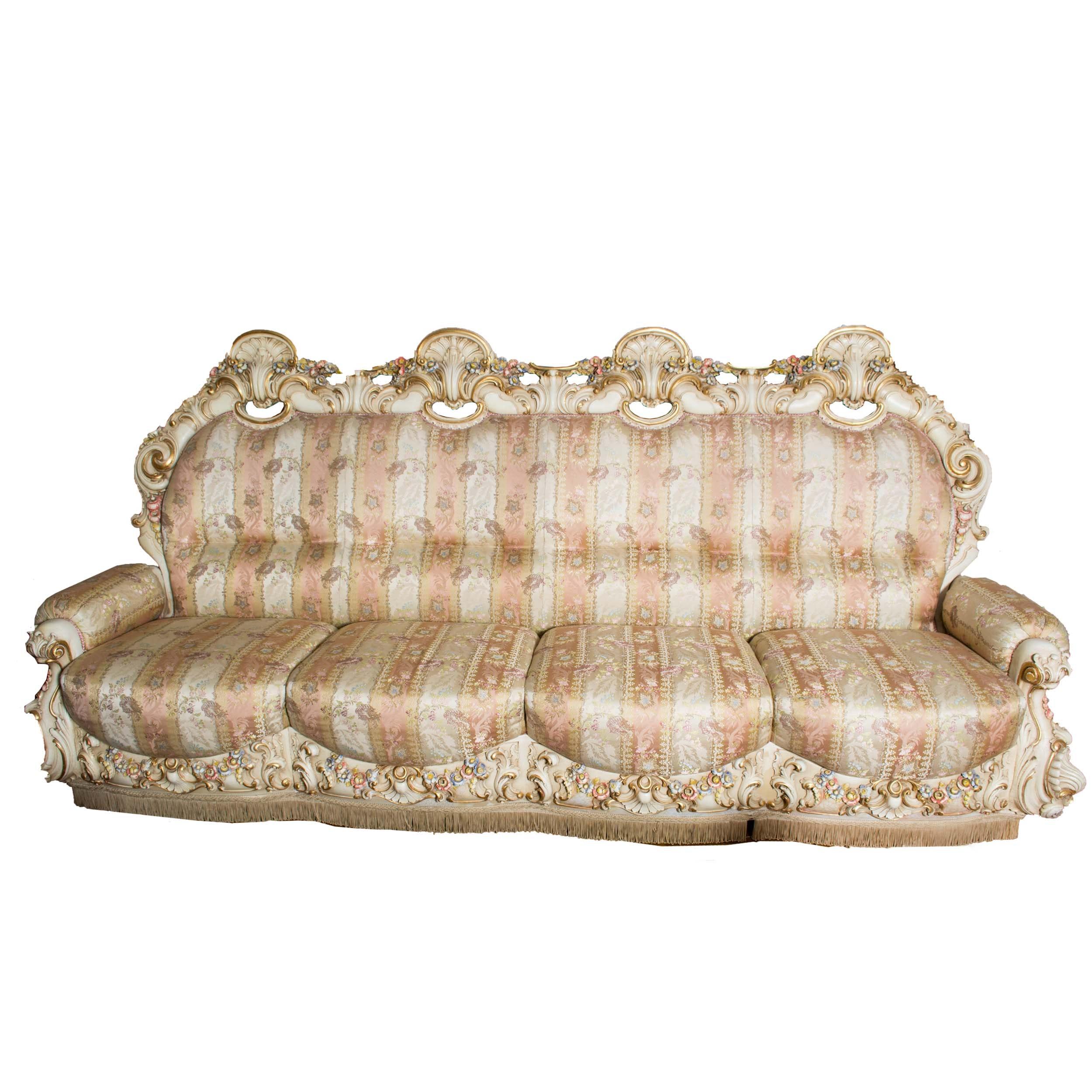 Rococo Style Sofa
