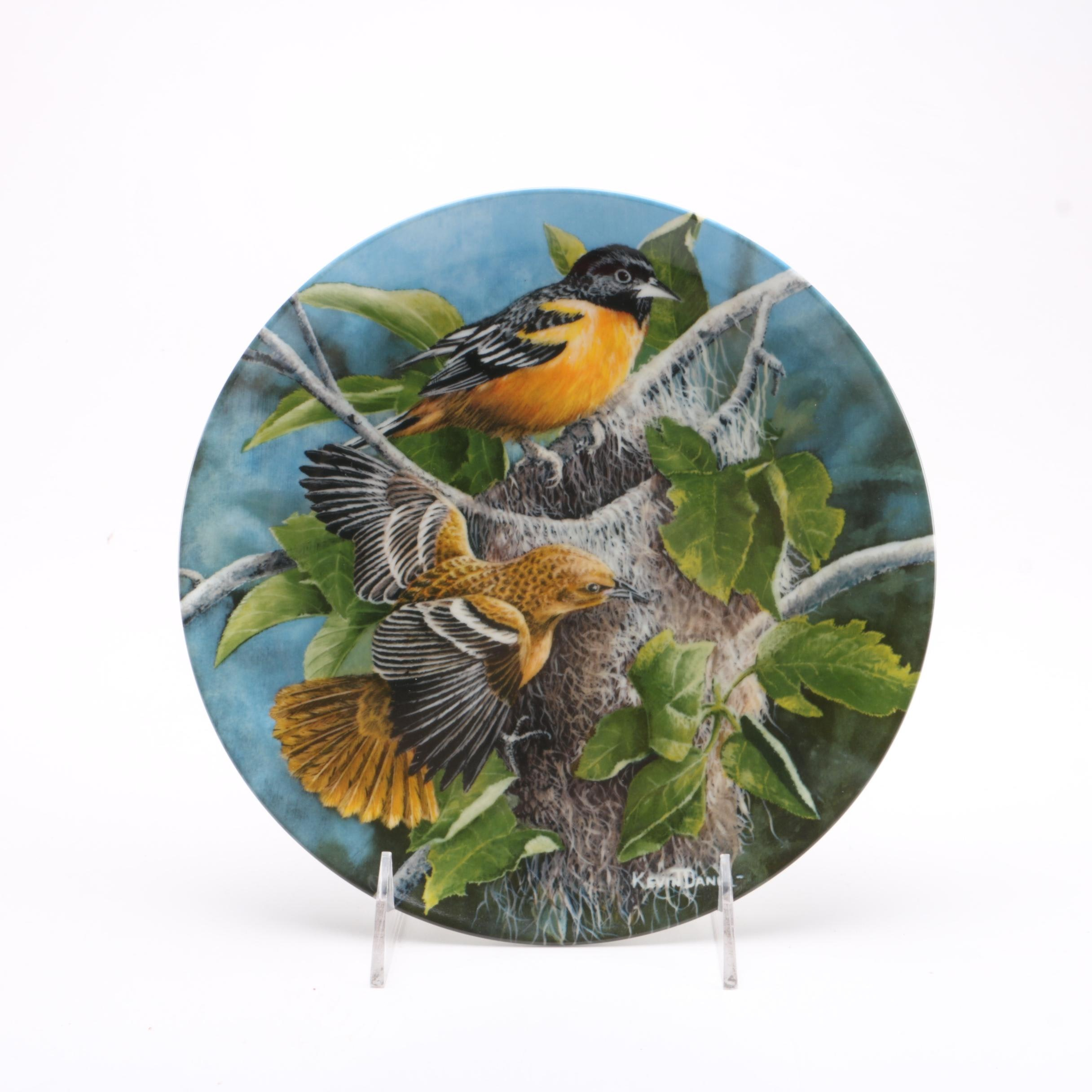 "Knowles ""Baltimore Oriole"" Collector Plate"