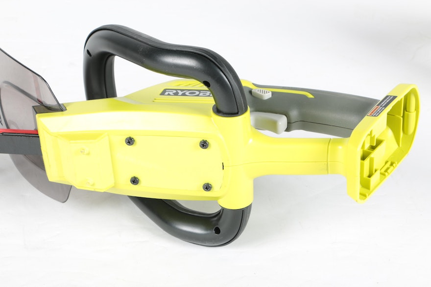 Ryobi Trimmer And Weedeater With Battery And Charger Ebth